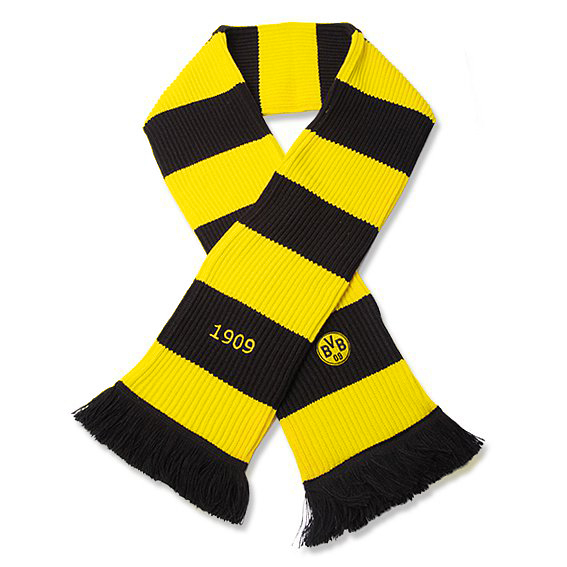 BVB 1909 Knitted Scarf