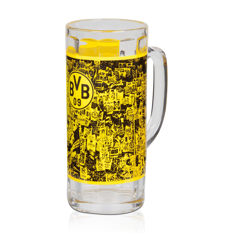 Image of BVB Beer Glass