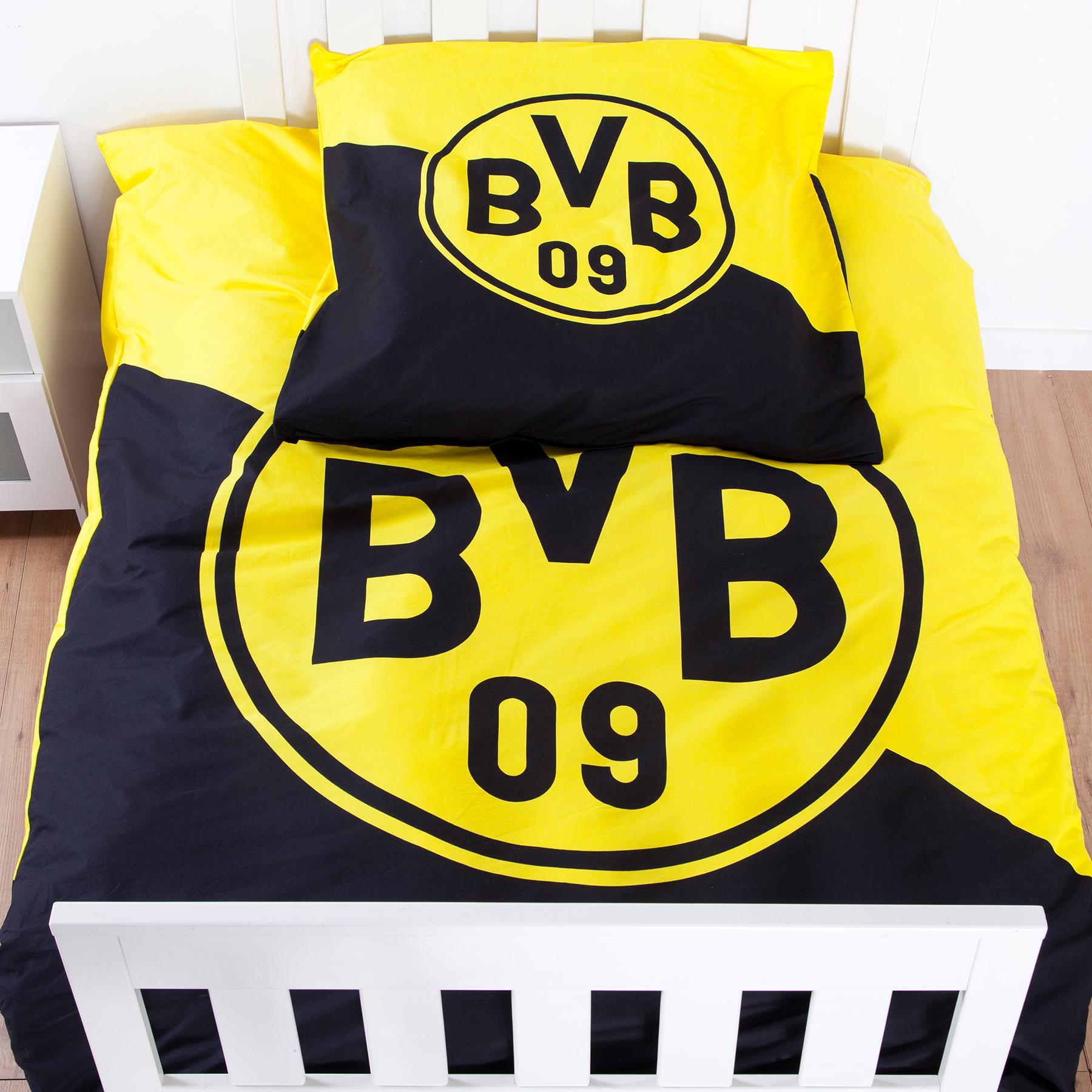 Image of BVB Crest Bed Linen