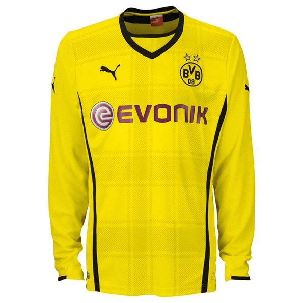 BVB Home Shirt 2013/14 - Long Sleeve