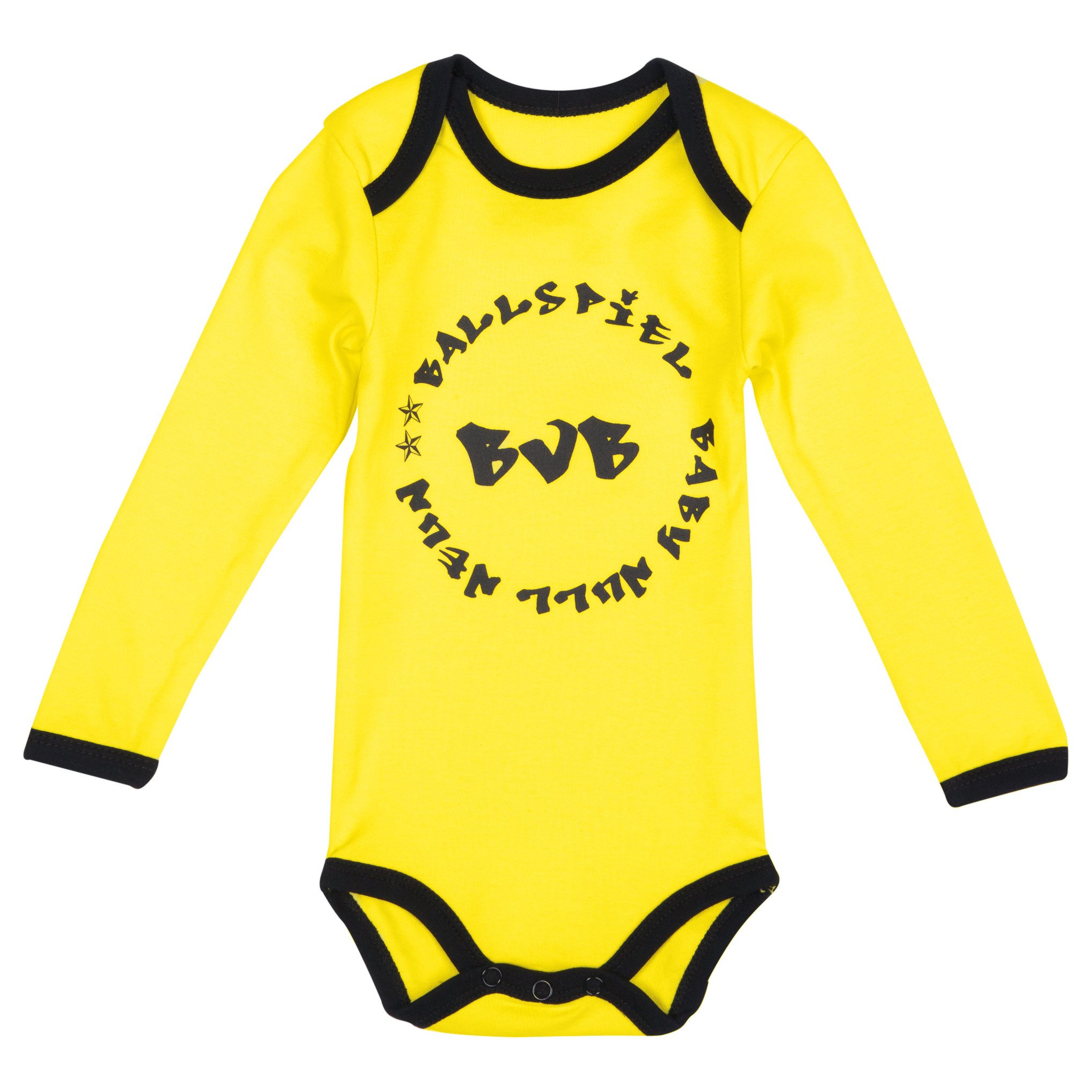 BVB Long Sleeved Bodysuit Baby Yellow