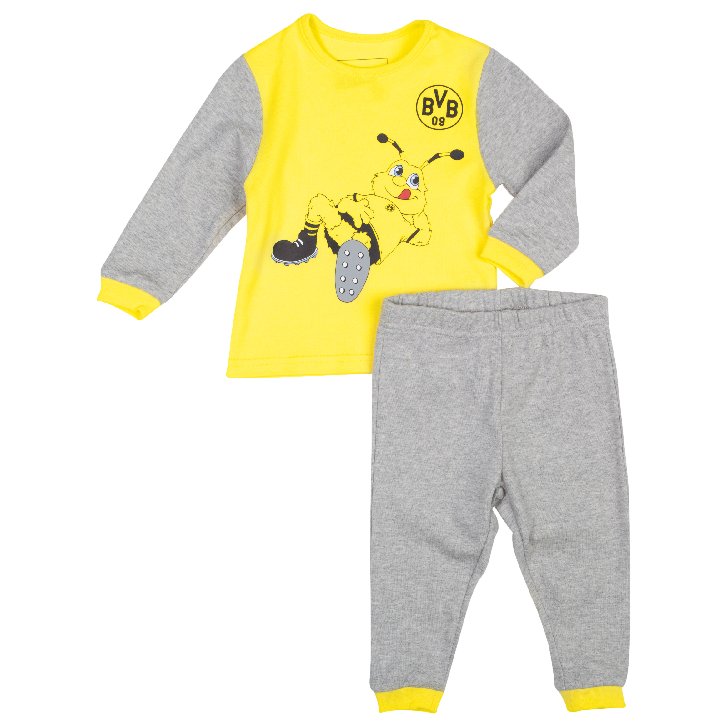 BVB Pyjamas Toddlers Grey