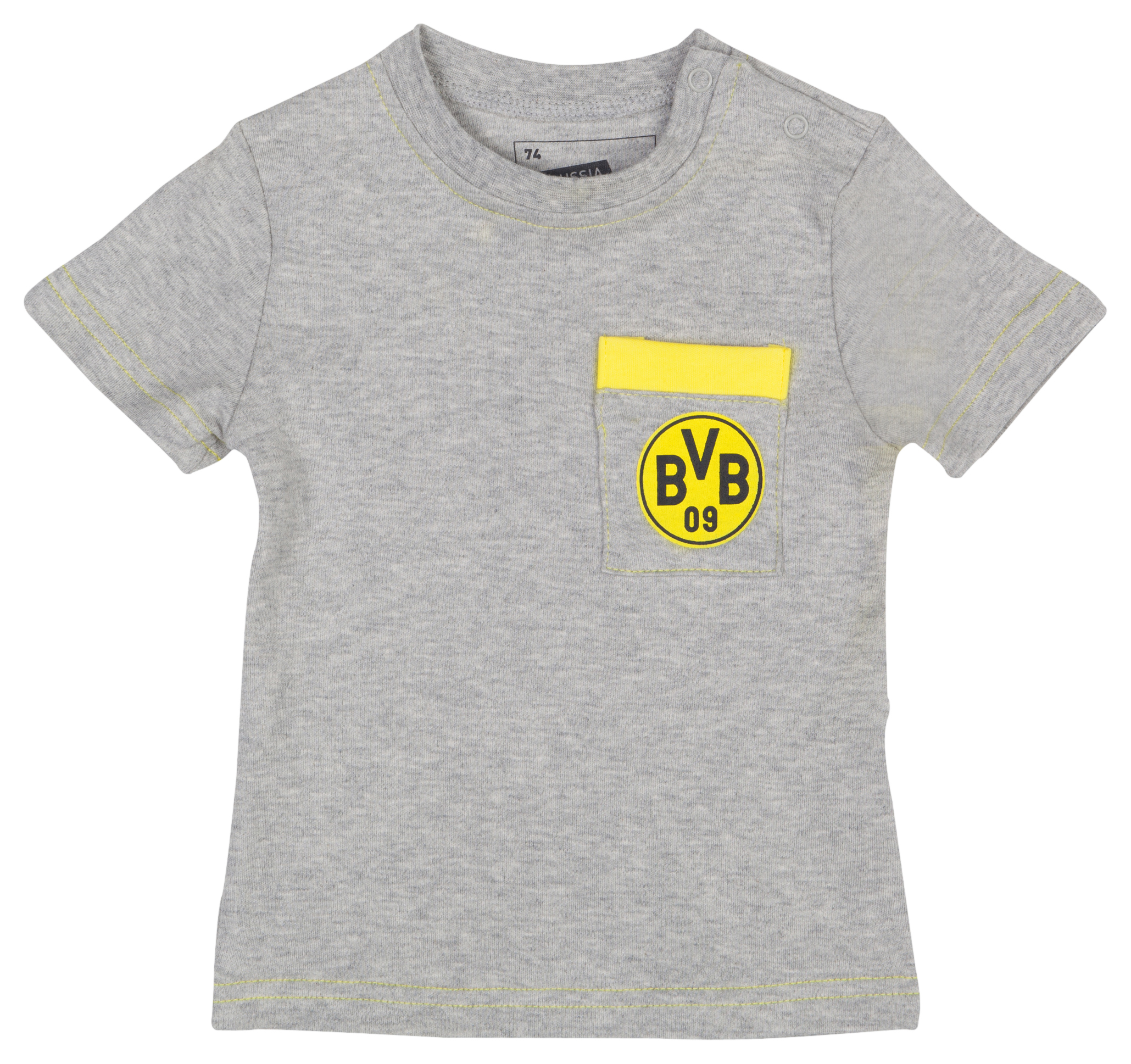 BVB Breast Pocket T-Shirt Toddlers Grey
