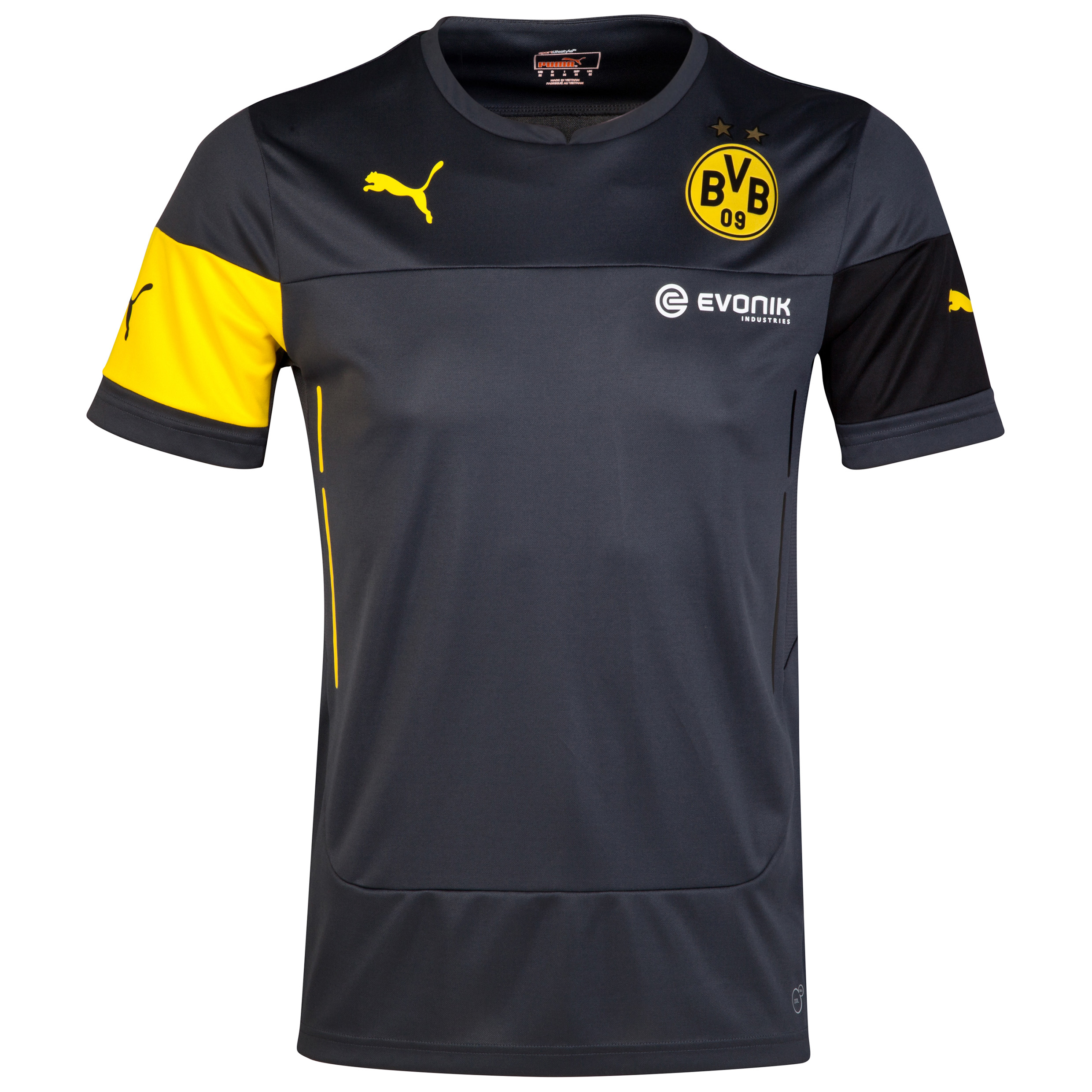 BVB Training Jersey Black