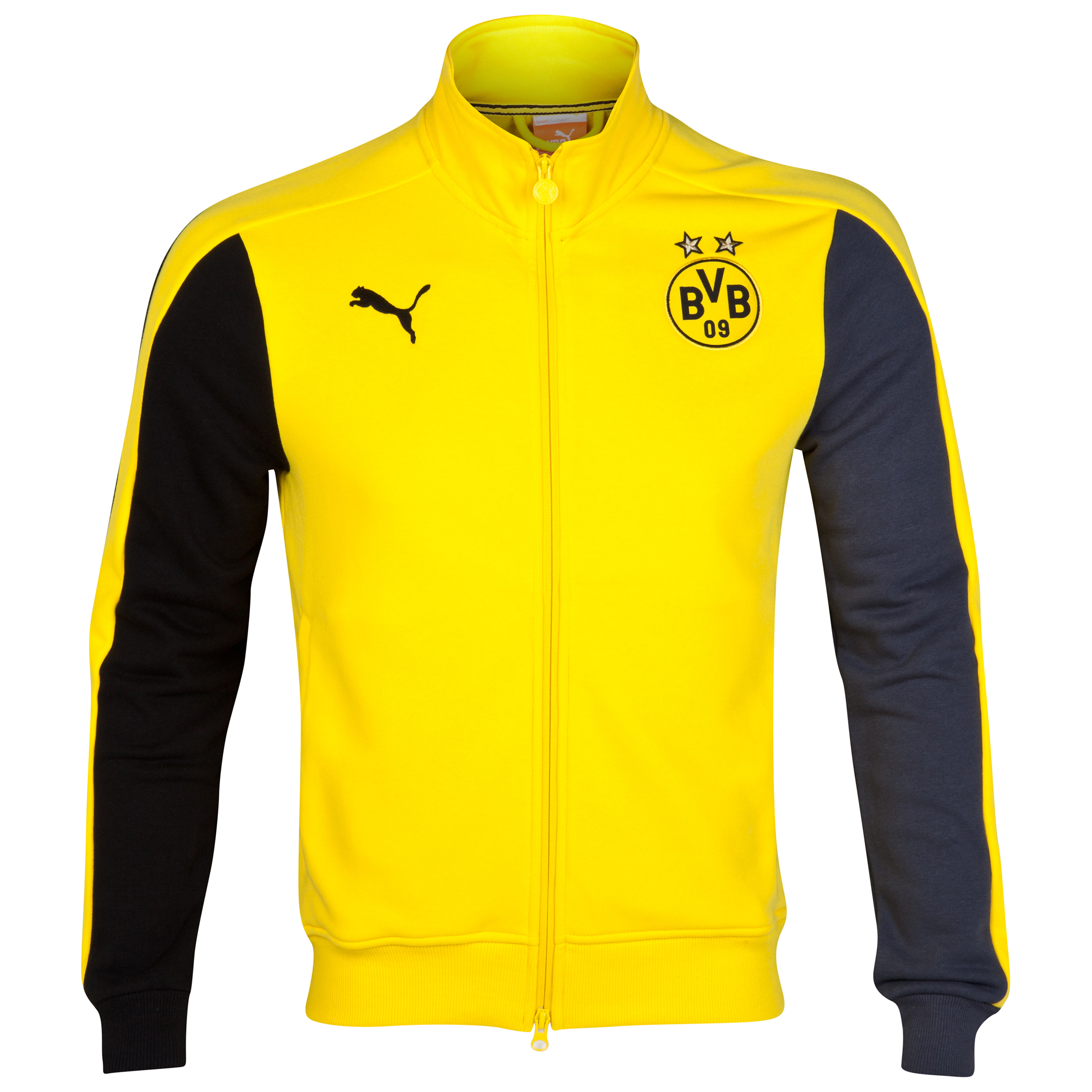 BVB Track Jacket Yellow