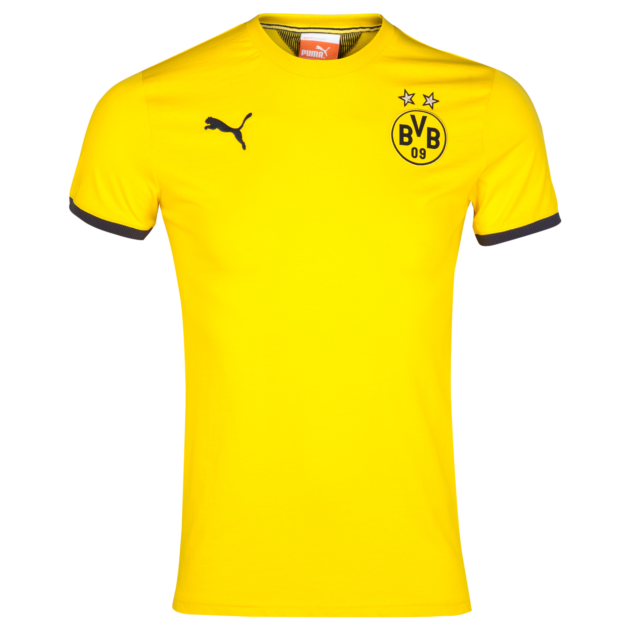 BVB T7 T-Shirt Yellow