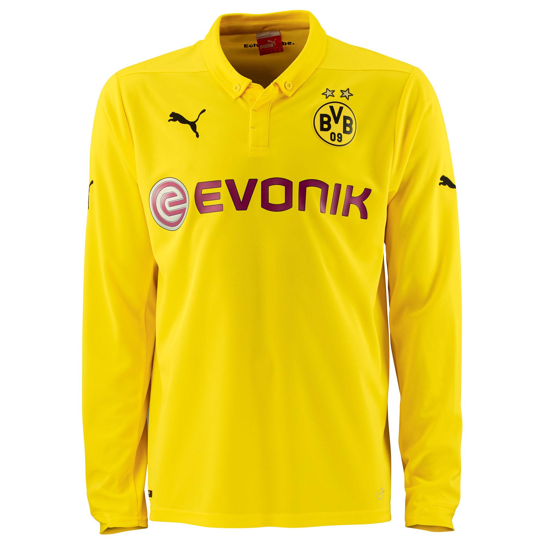 BVB International Home Shirt 2014/15 - Long Sleeve - Kids