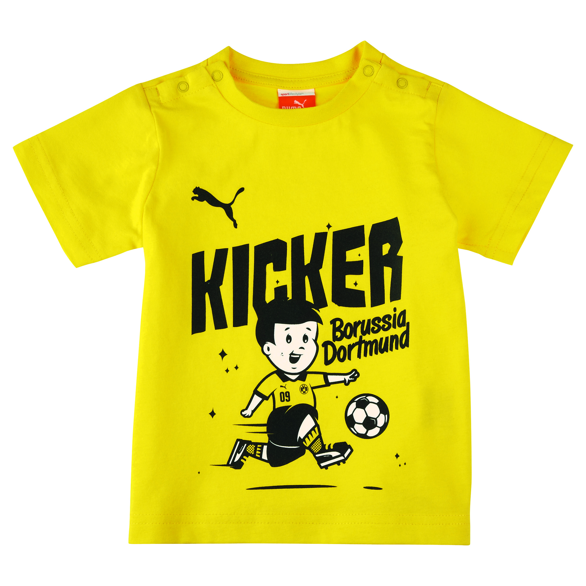 BVB Minicats Kicker Graphic T-Shirt - Infants