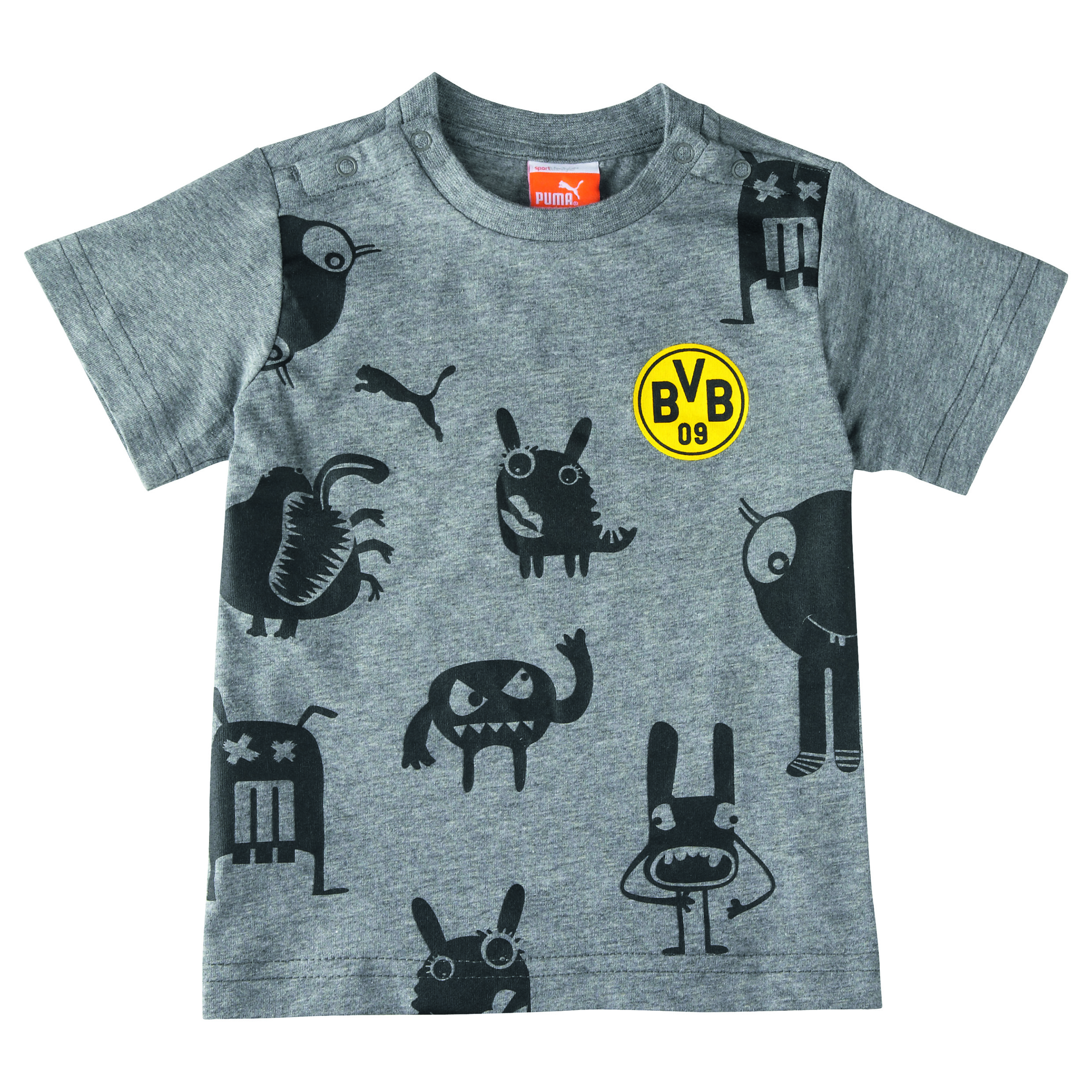 BVB Minicats Monster Graphic T-Shirt - Infants