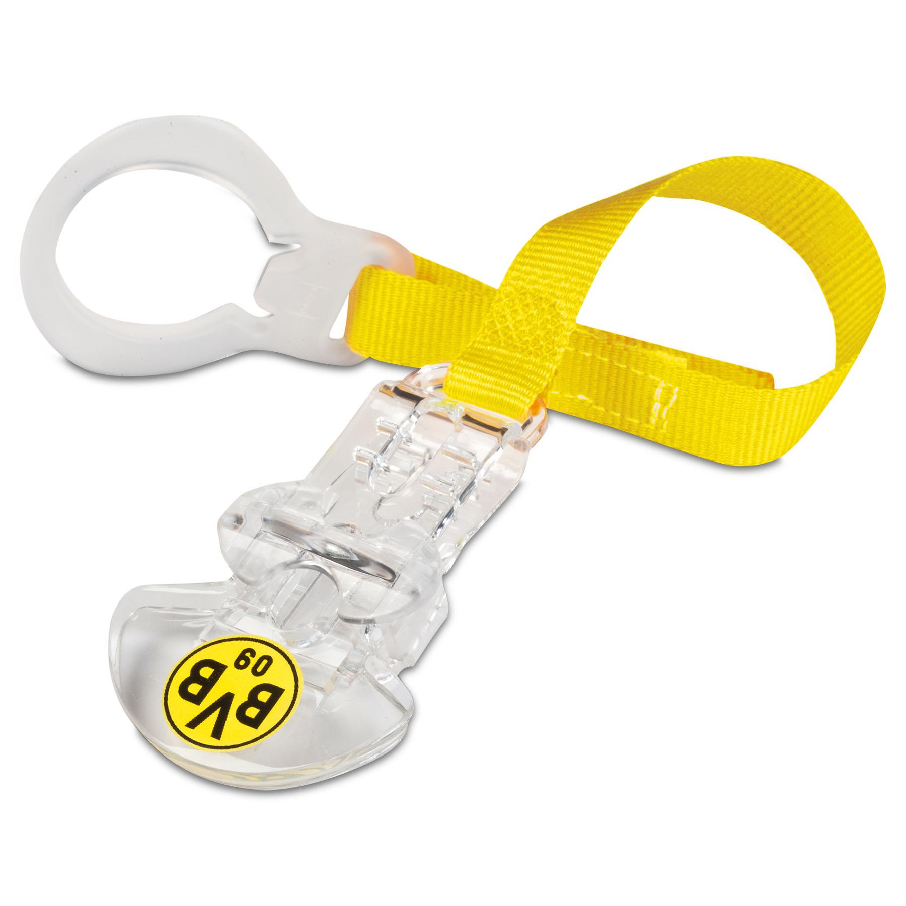 BVB Pacifier Ribbon, Clear