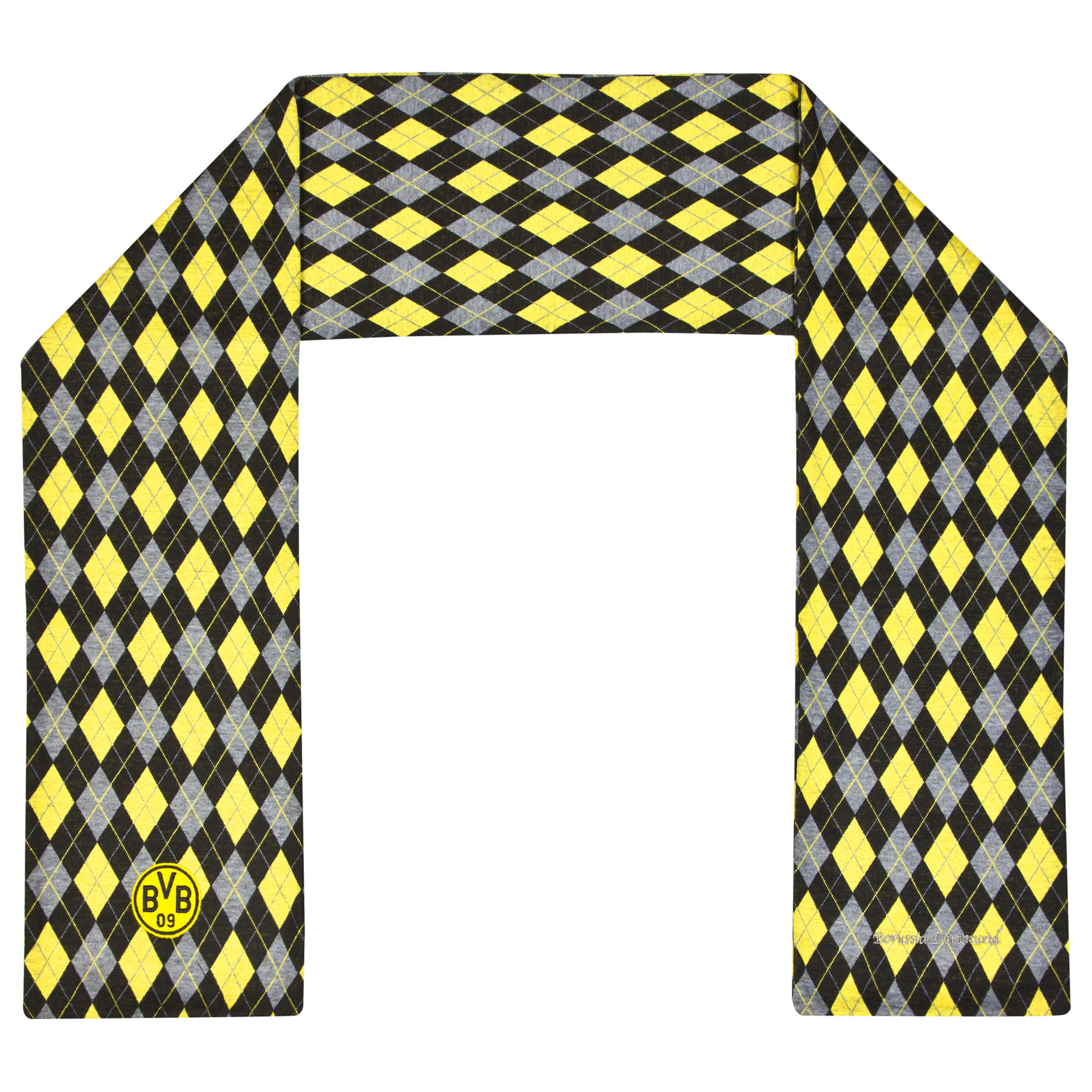 BVB Diamond Fashion Scarf - Black/Yellow
