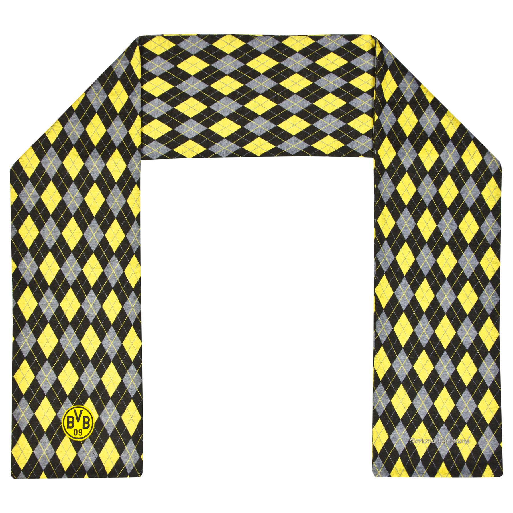 BVB Diamond Fashion Scarf – Black/Yellow