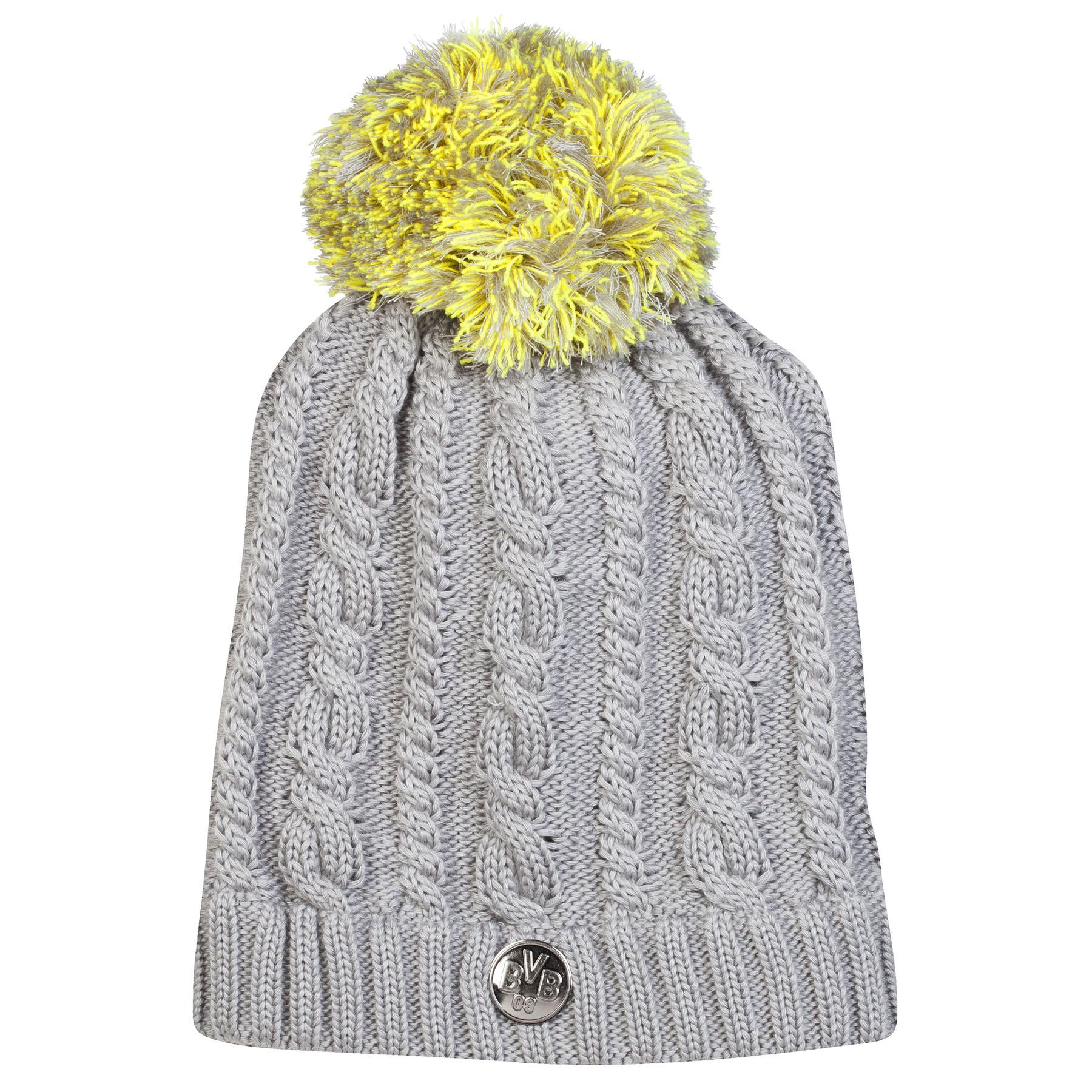BVB Bobble Beanie Hat – Grey