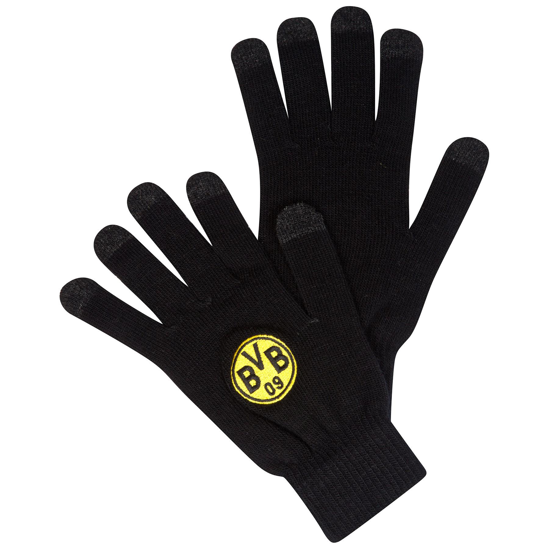 BVB Smartphone Gloves – Black/Yellow