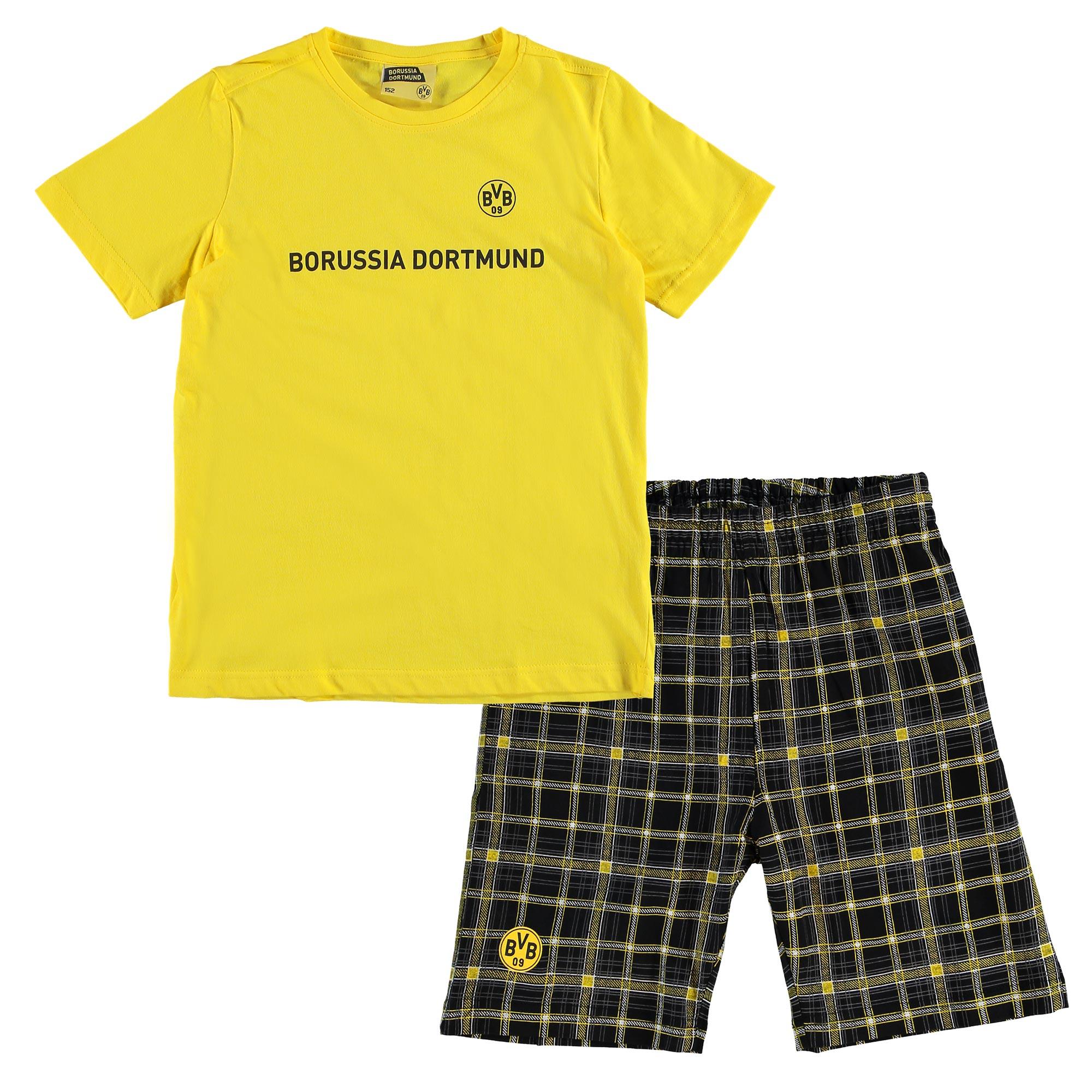 BVB Boys Pyjamas - Yellow/Black