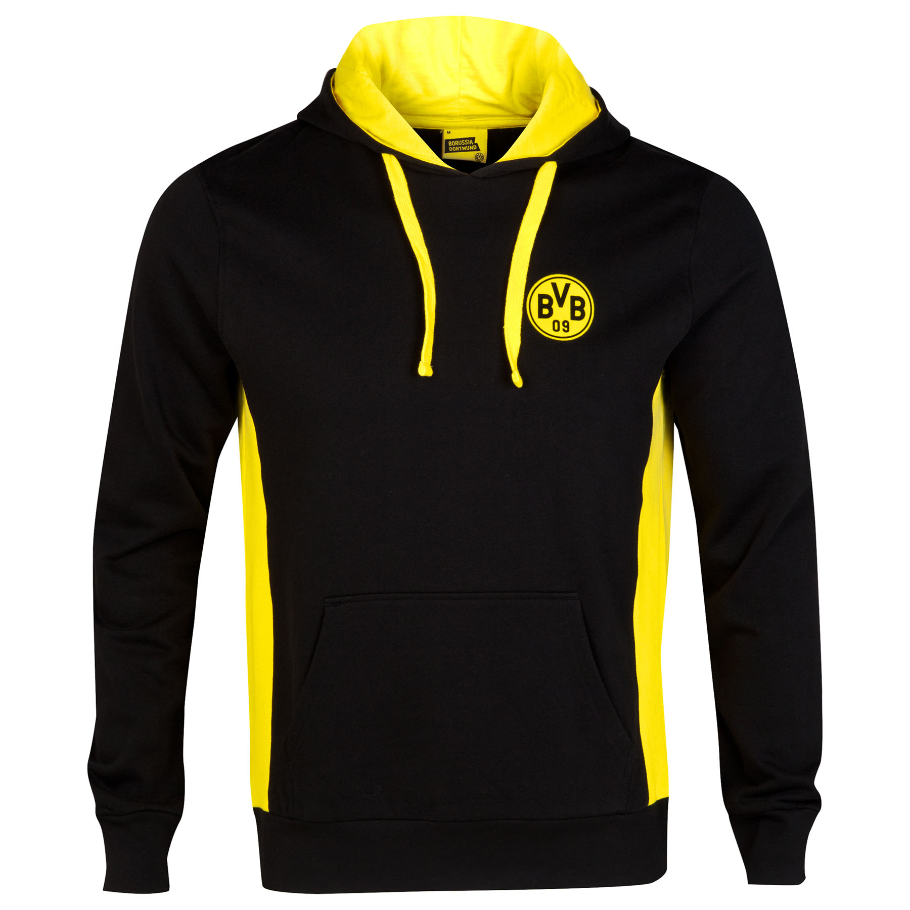 BVB Crest Hoodie - Black