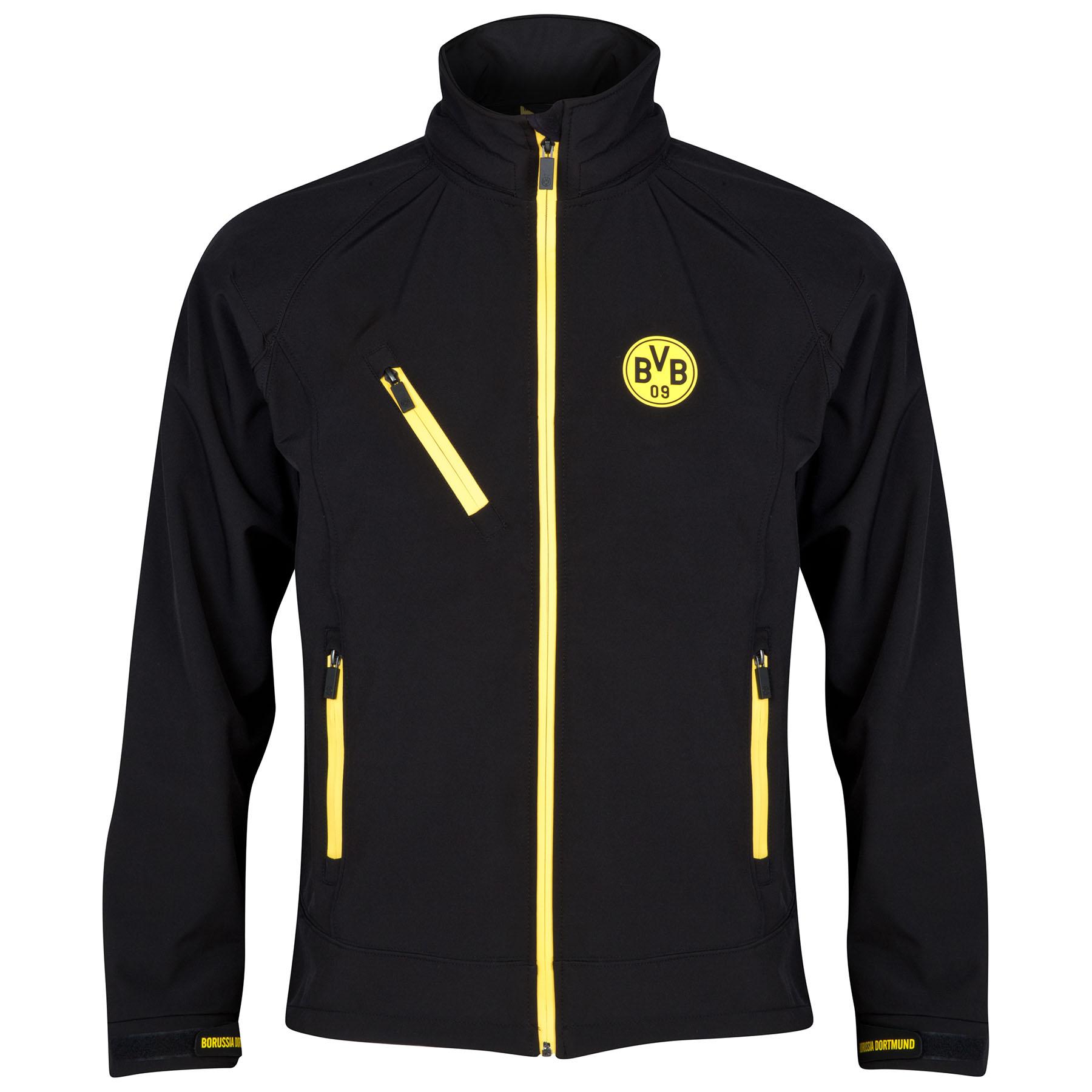 BVB Soft Shell Jacket - Black