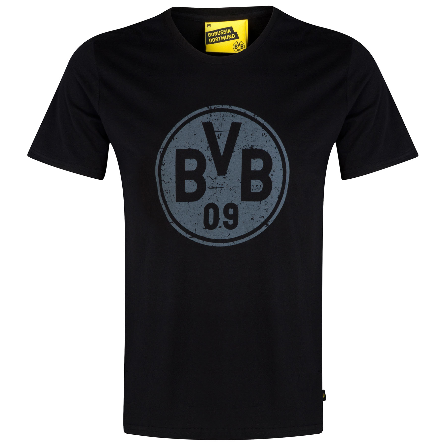 BVB Crest T-Shirt - Black - Junior