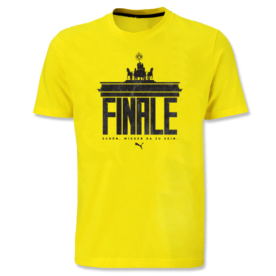 BVB DFB Cup Final T-Shirt Yellow