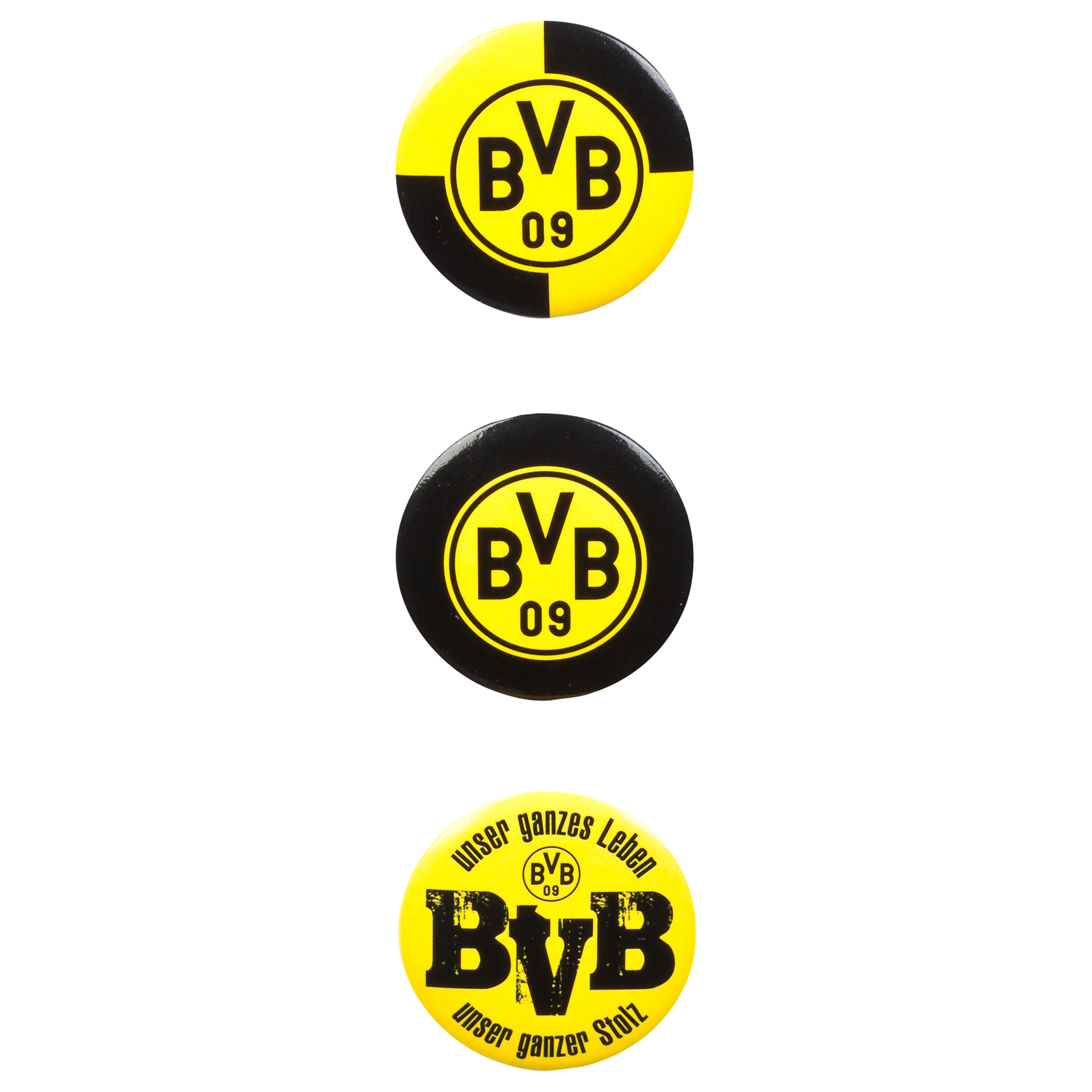 BVB Button Badges - 3 Pack