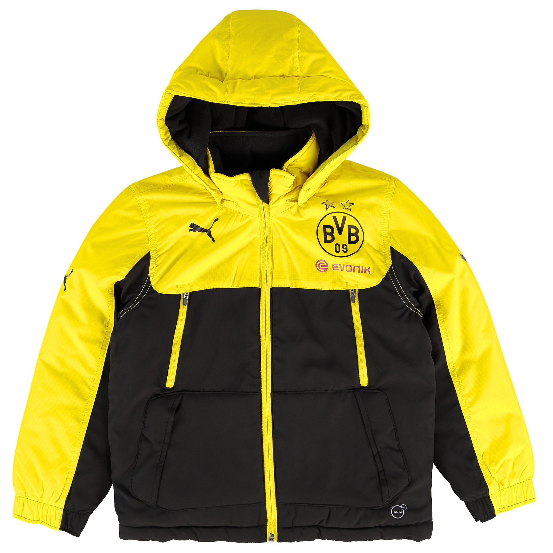 BVB Training Bench Jacket  Kids Yellow
