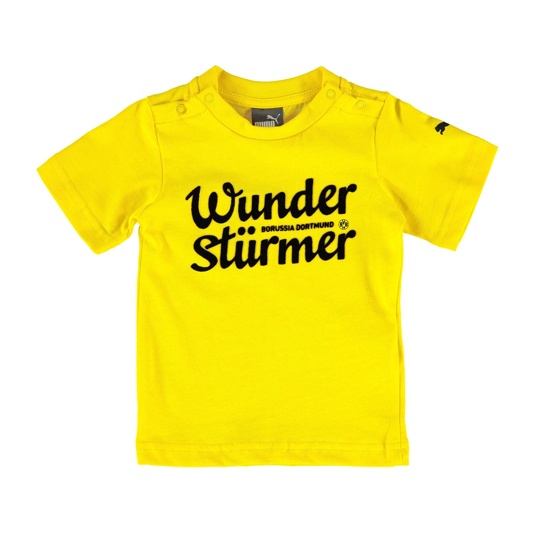 BVB Minicats Graphic T-Shirt – Infants Yellow