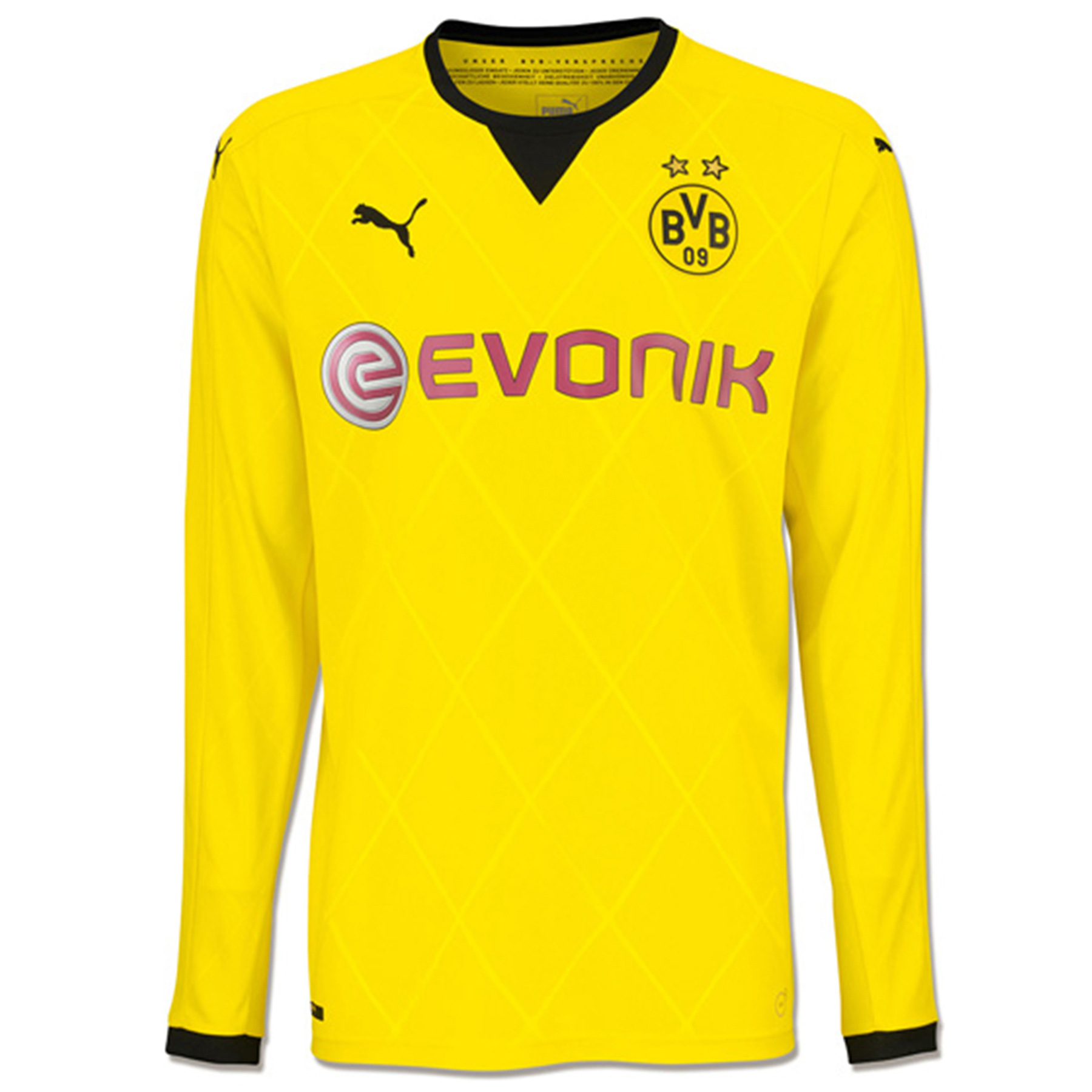 BVB Ambassador Home Shirt 2015/16 – Long Sleeve – Kids Yellow