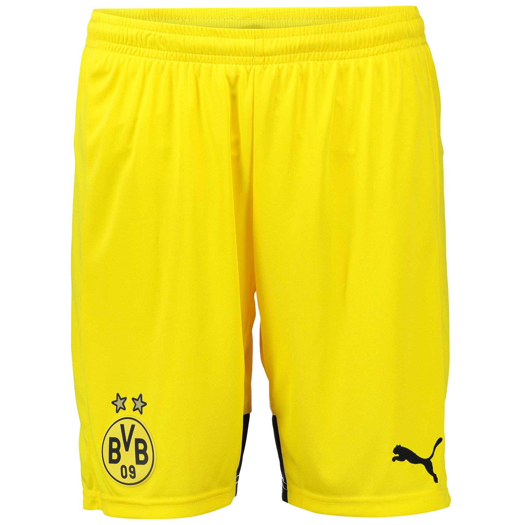 BVB Ambassador Home Shorts 2015/16 – Kids Yellow