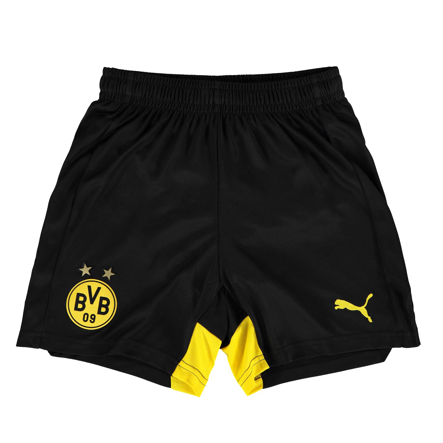 BVB Home/Away Shorts 2015/16 – Kids Black
