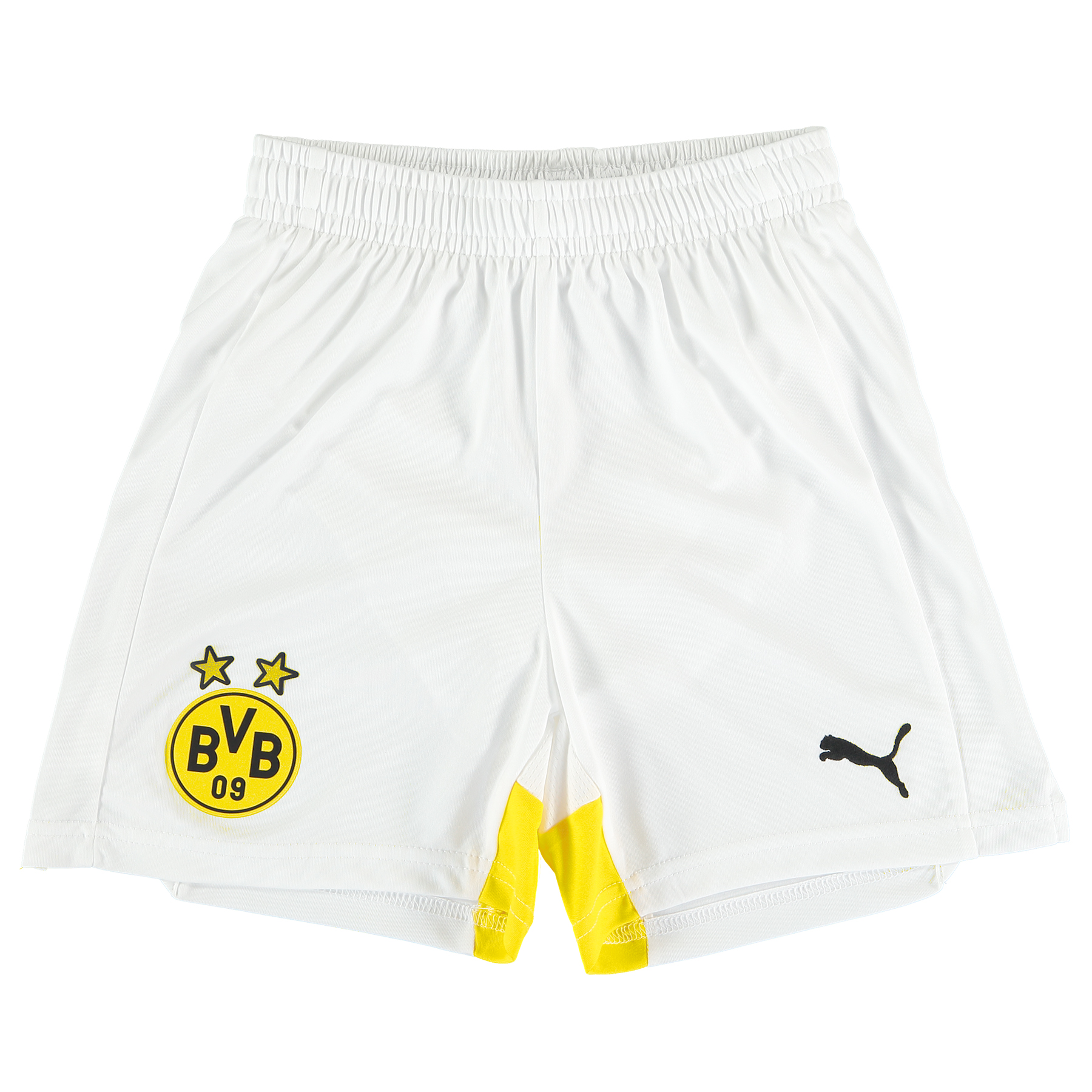 BVB Third Shorts 2015/16 - Kids White