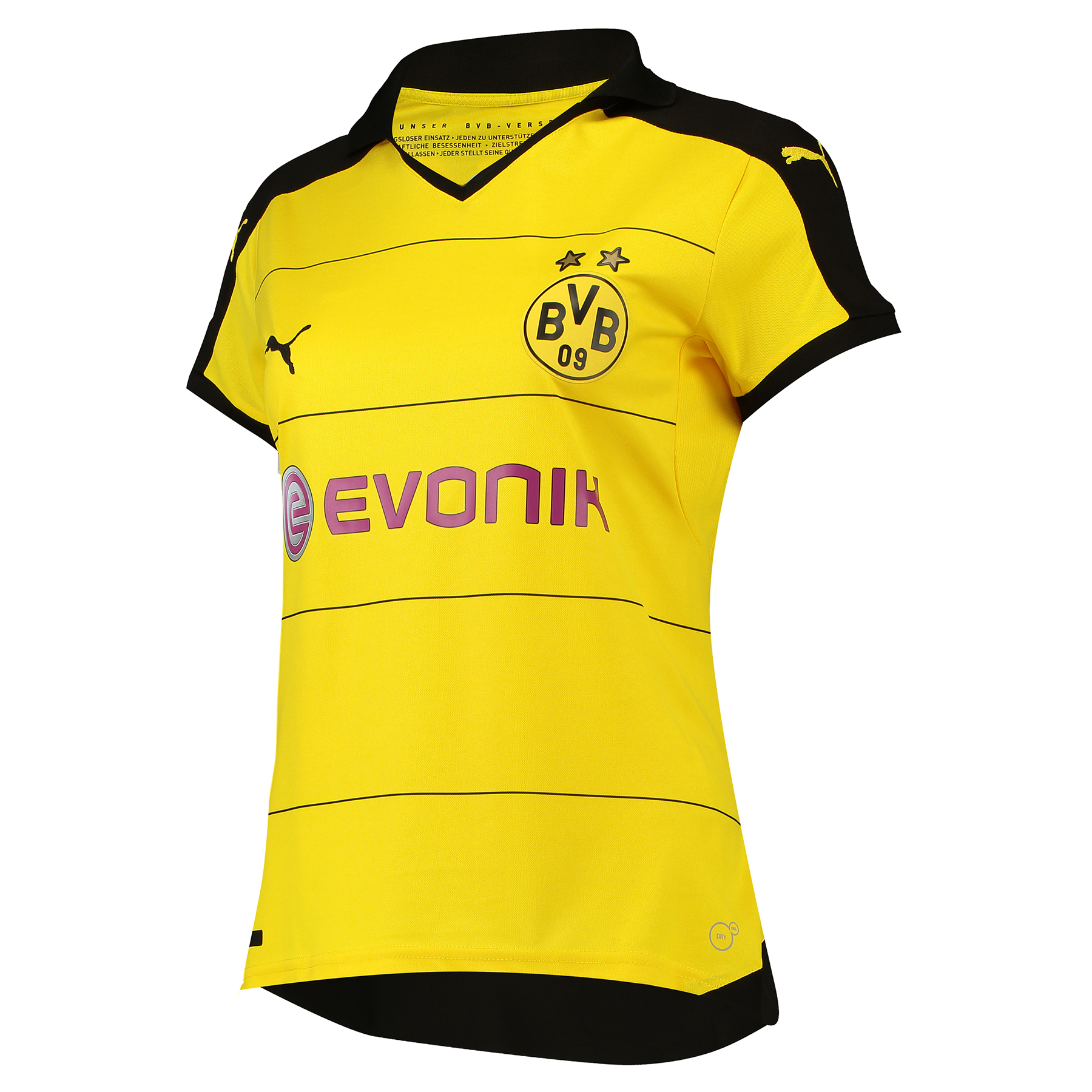 BVB Home Shirt 2015/16 - Womens with Sponsor Yellow
