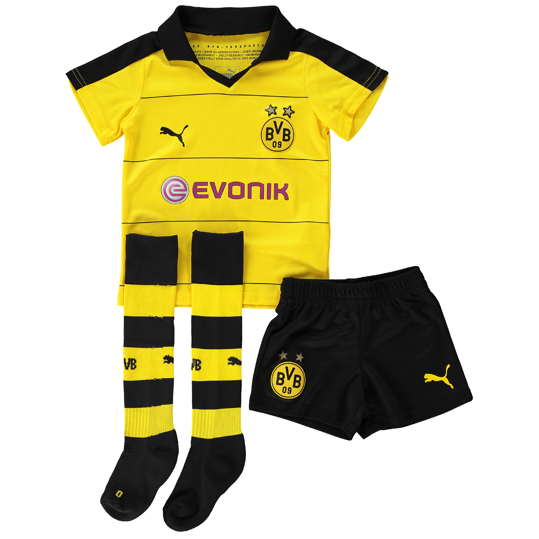 BVB Home Mini Kit 2015/16 Yellow