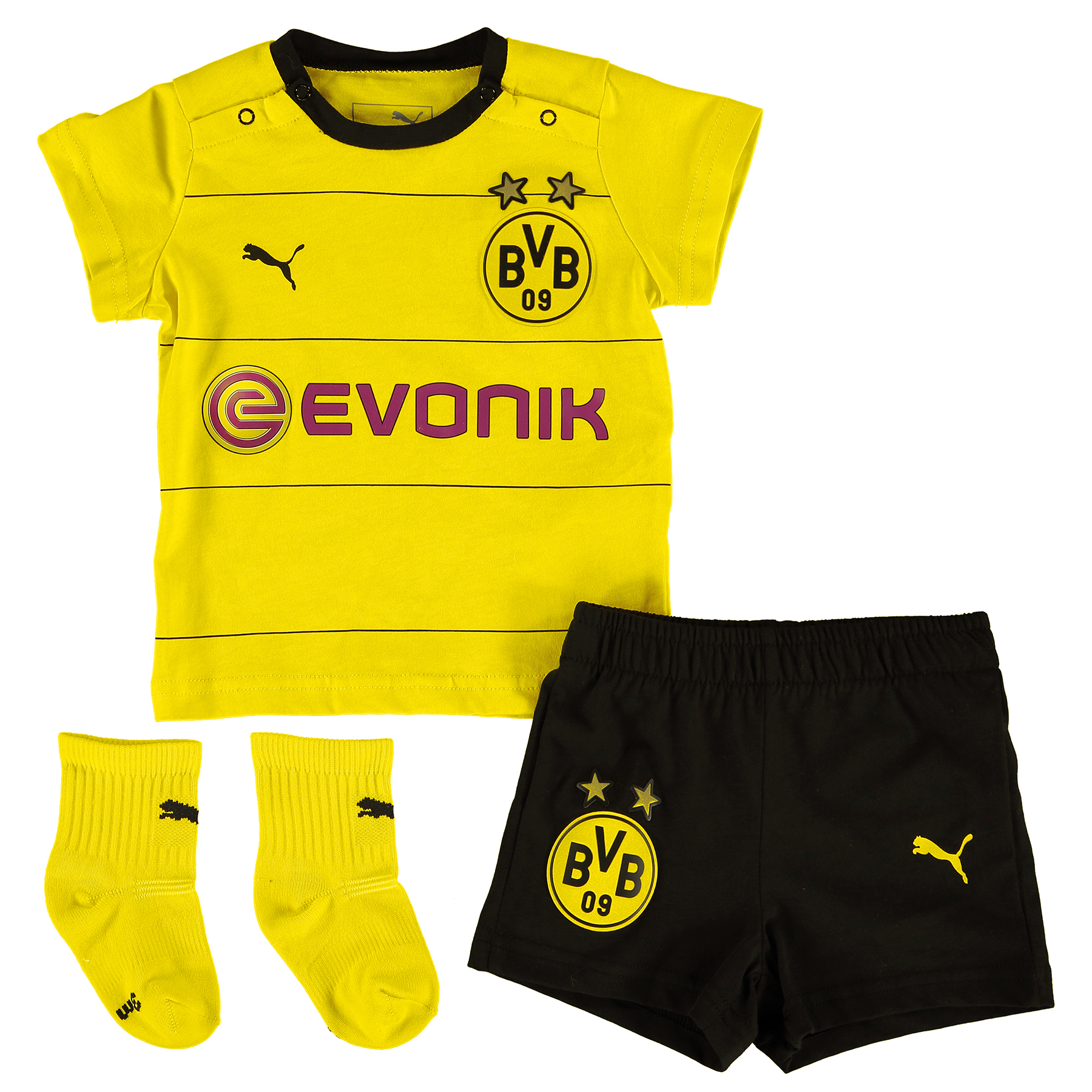 BVB Home Baby Kit 2015/16 Yellow