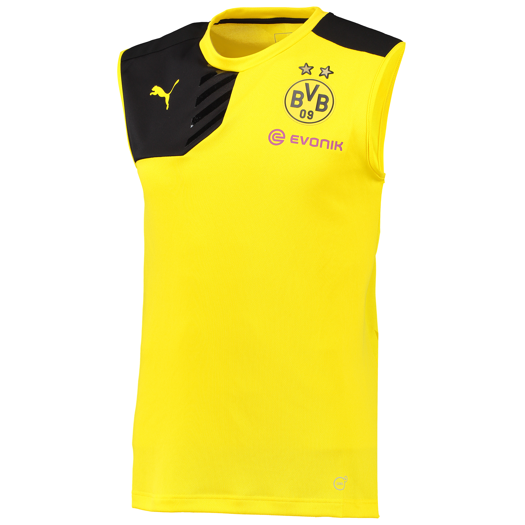 BVB Sleeveless Training Top Yellow