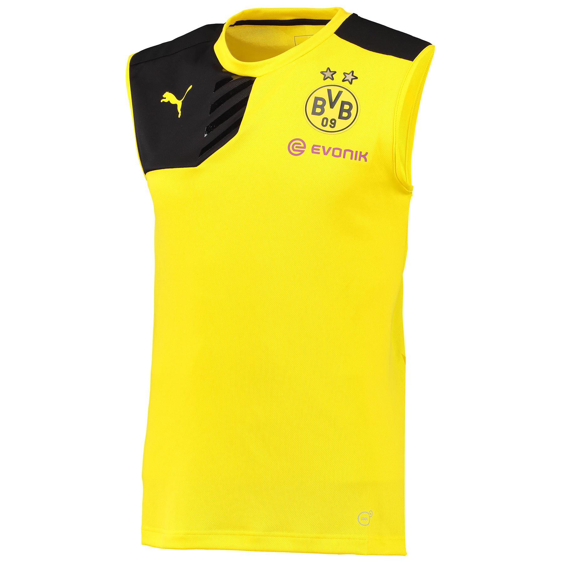 BVB Sleeveless Training Top Yellow