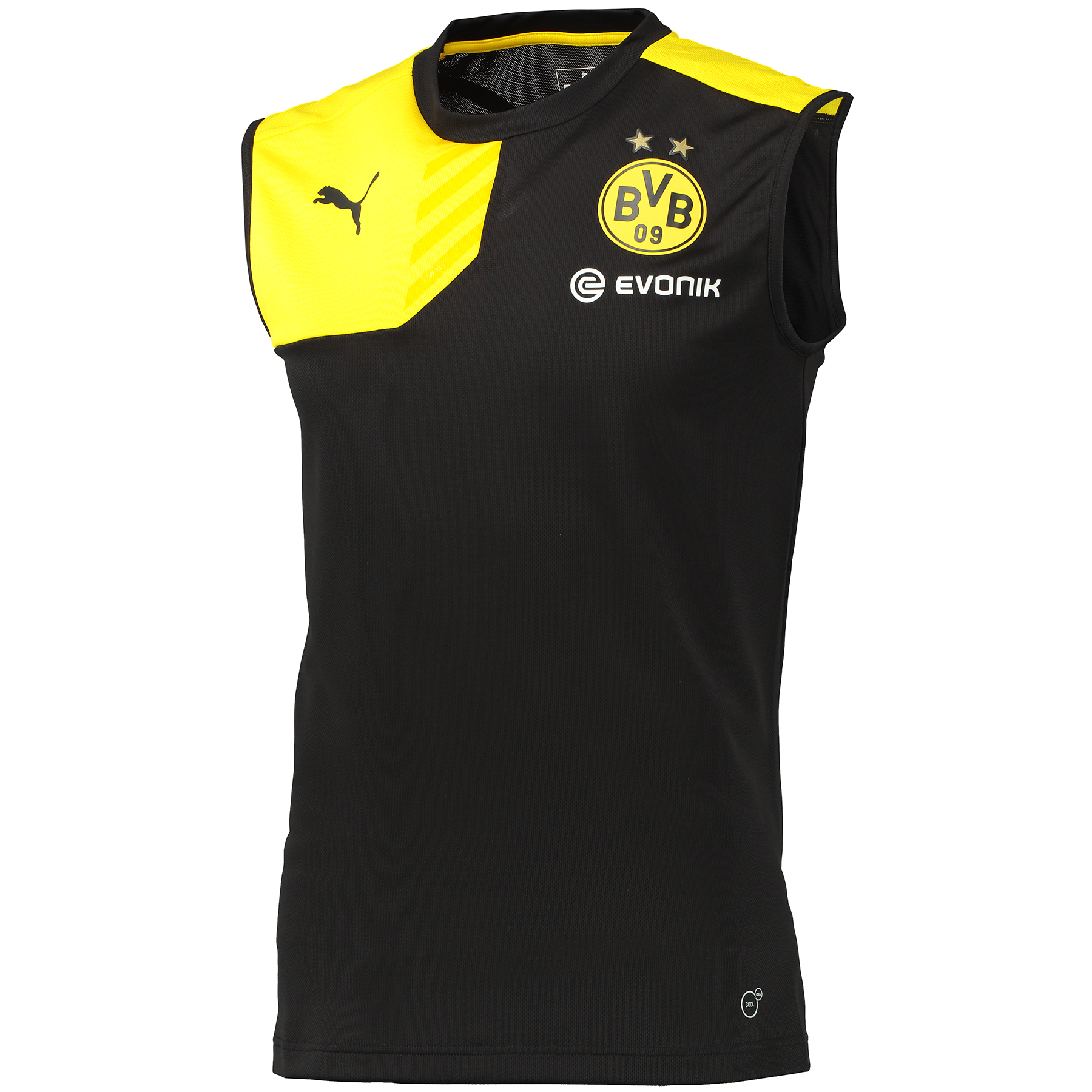 BVB Sleeveless Training Top Black