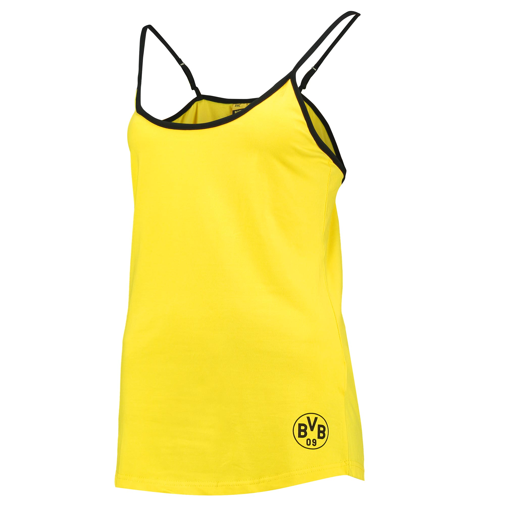BVB Vest Top – Yellow – Womens