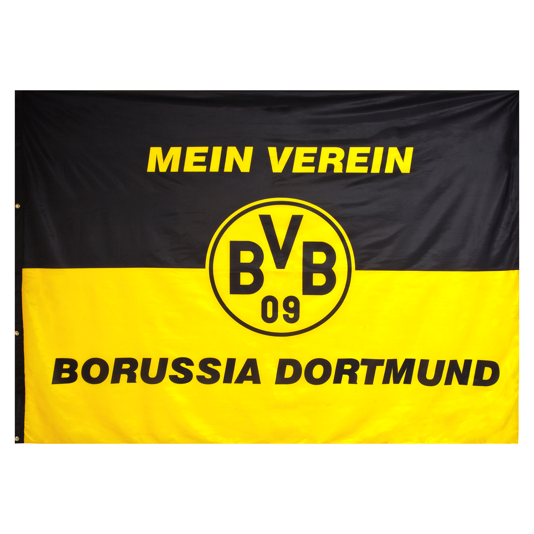 Image of BVB Crested Flag 200 x 150, N/A