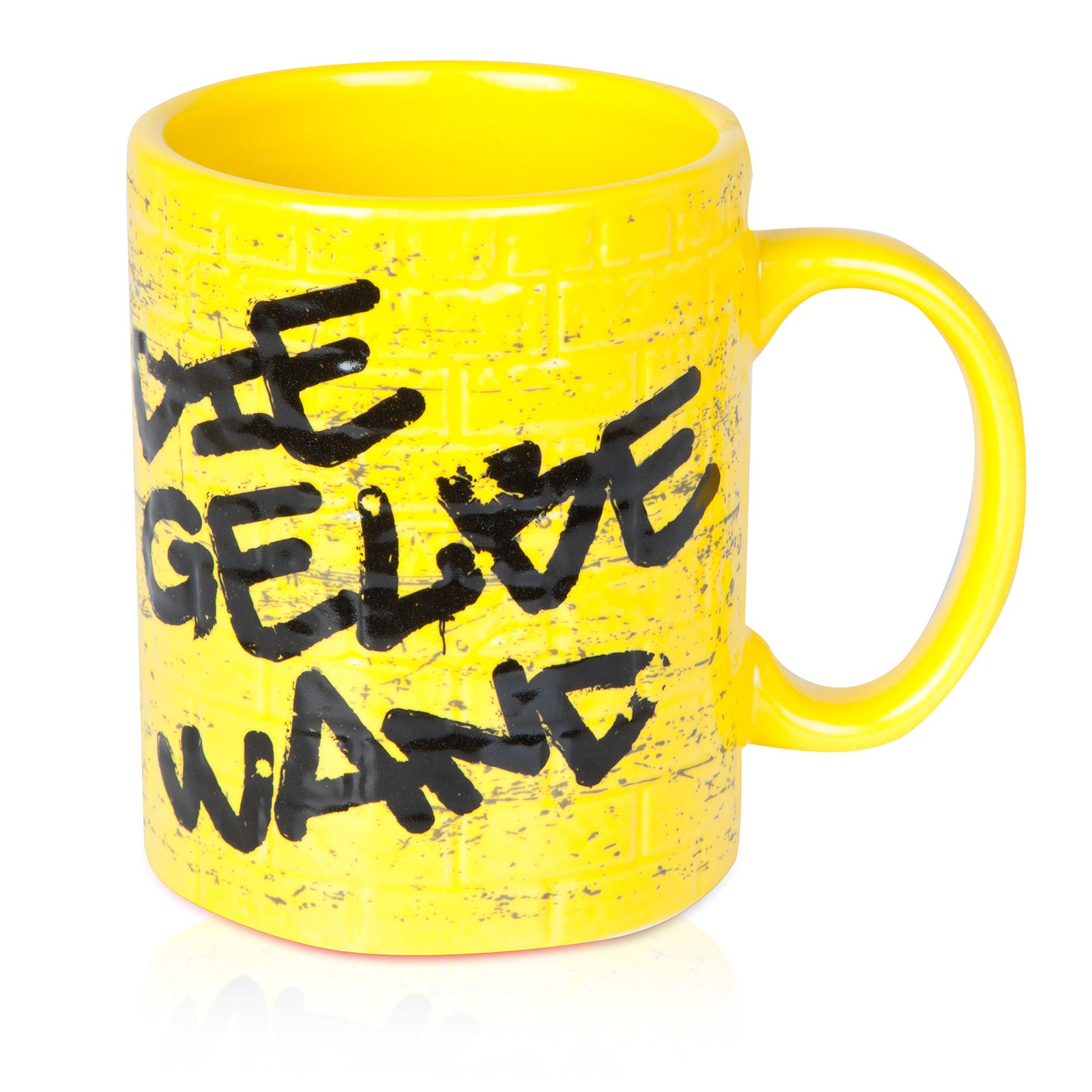 Image of BVB Brick Wall Mug Yellow