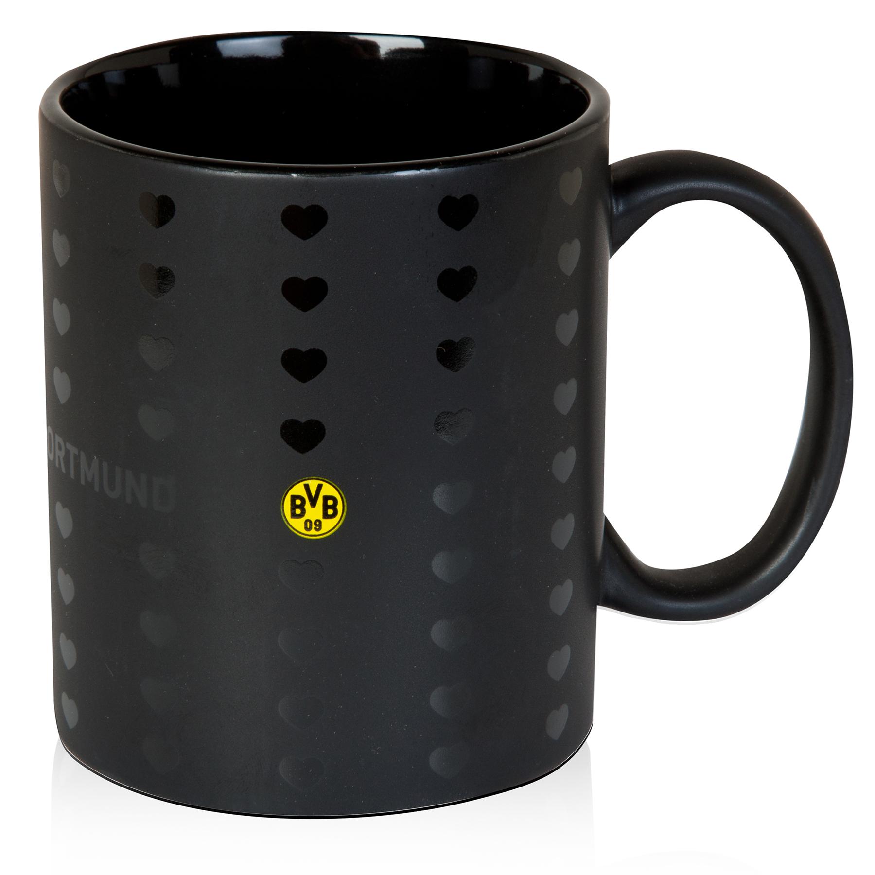 Image of BVB Heart Mug Black