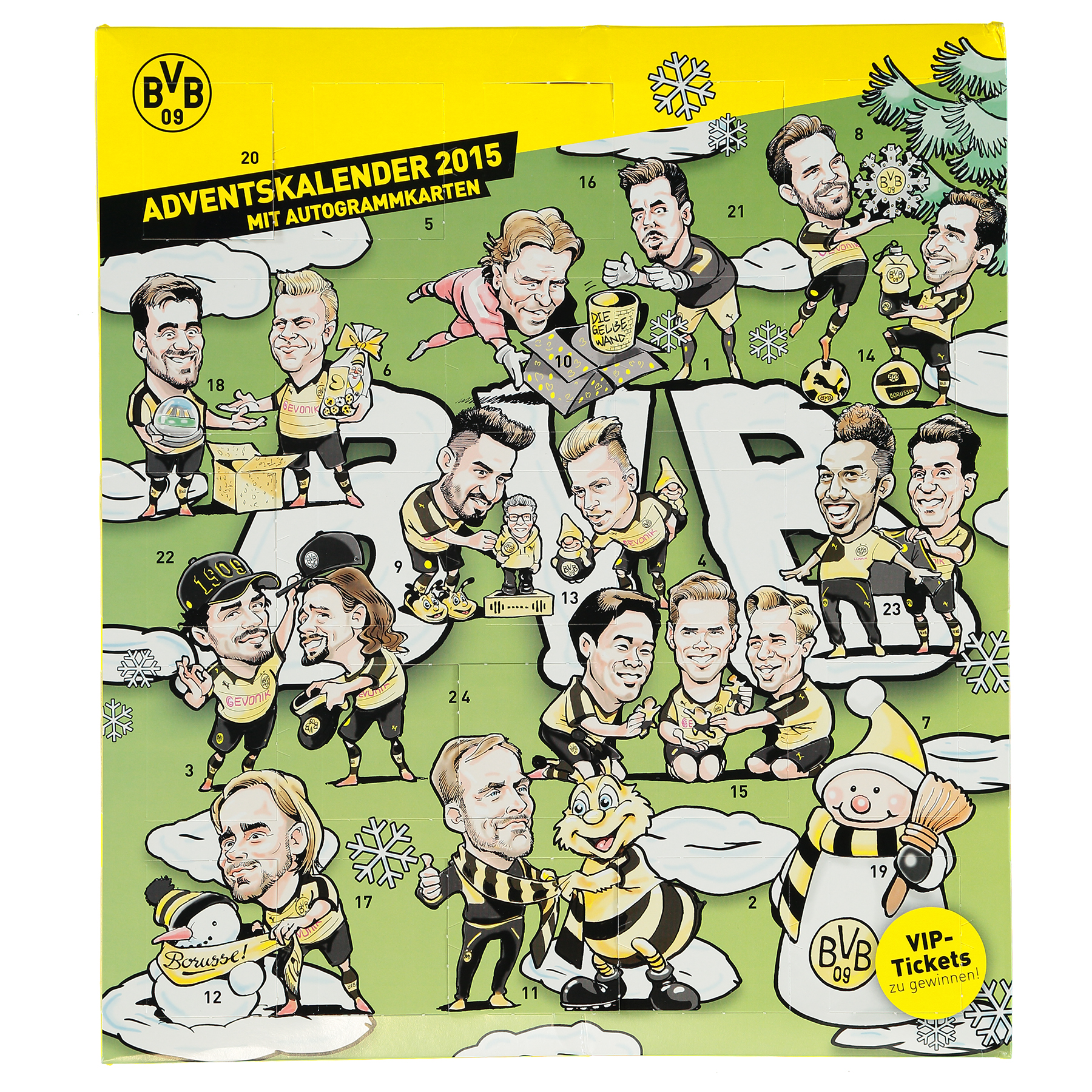 BVB Comic Advent Calendar 2015