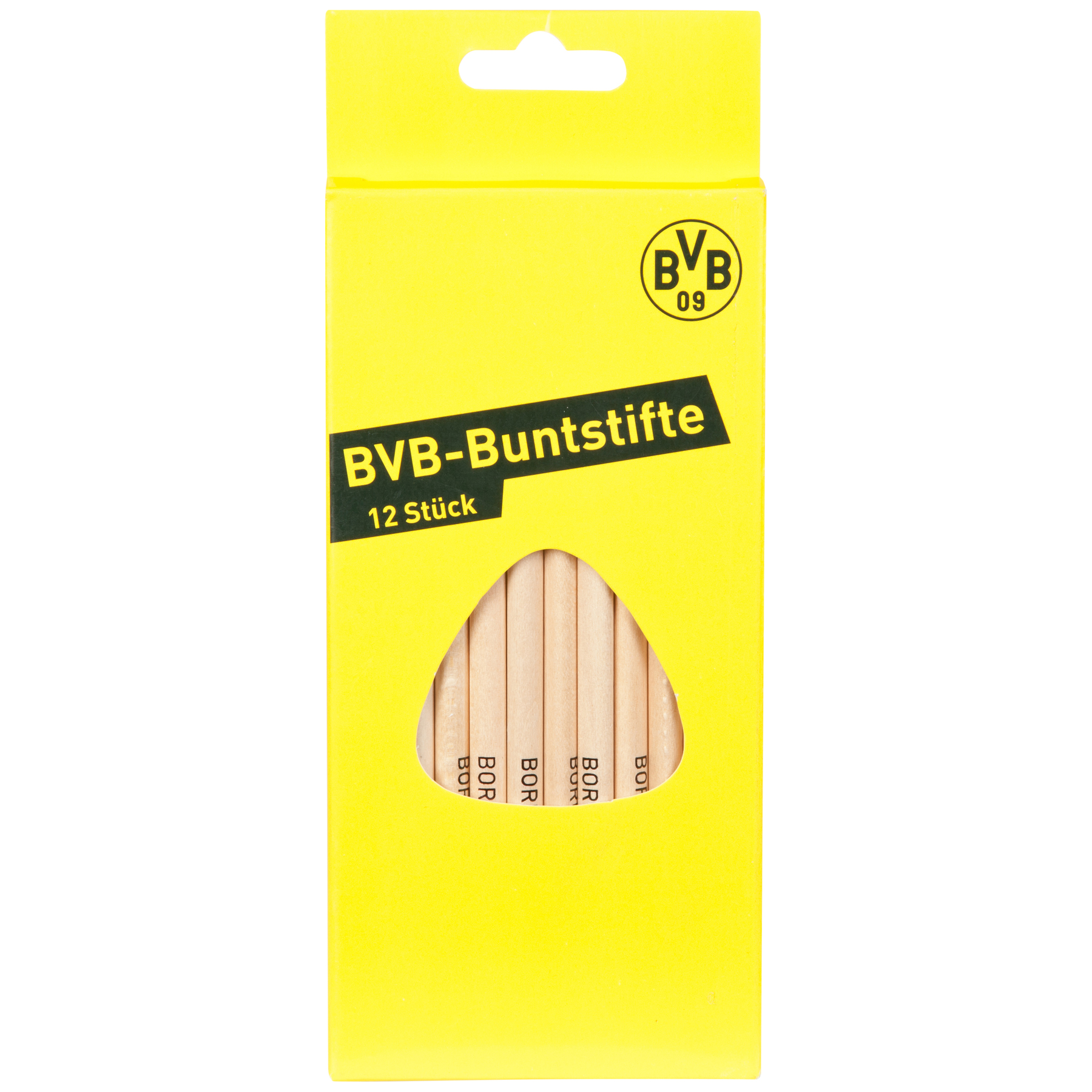 Image of BVB Coloured Pencils - Pack of 12, Red