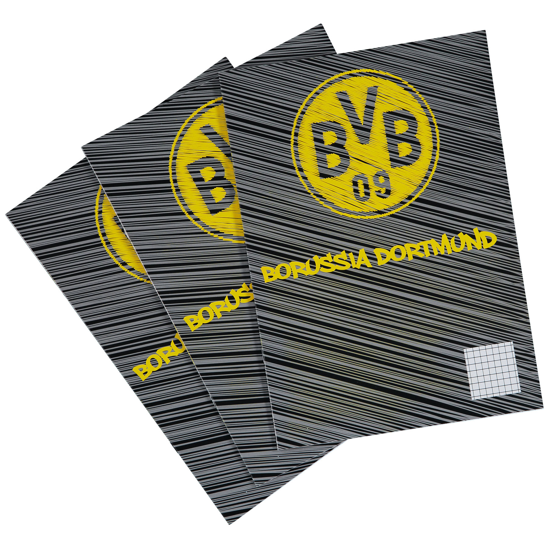 Image of BVB Exercise Books - Pack of 3, N/A