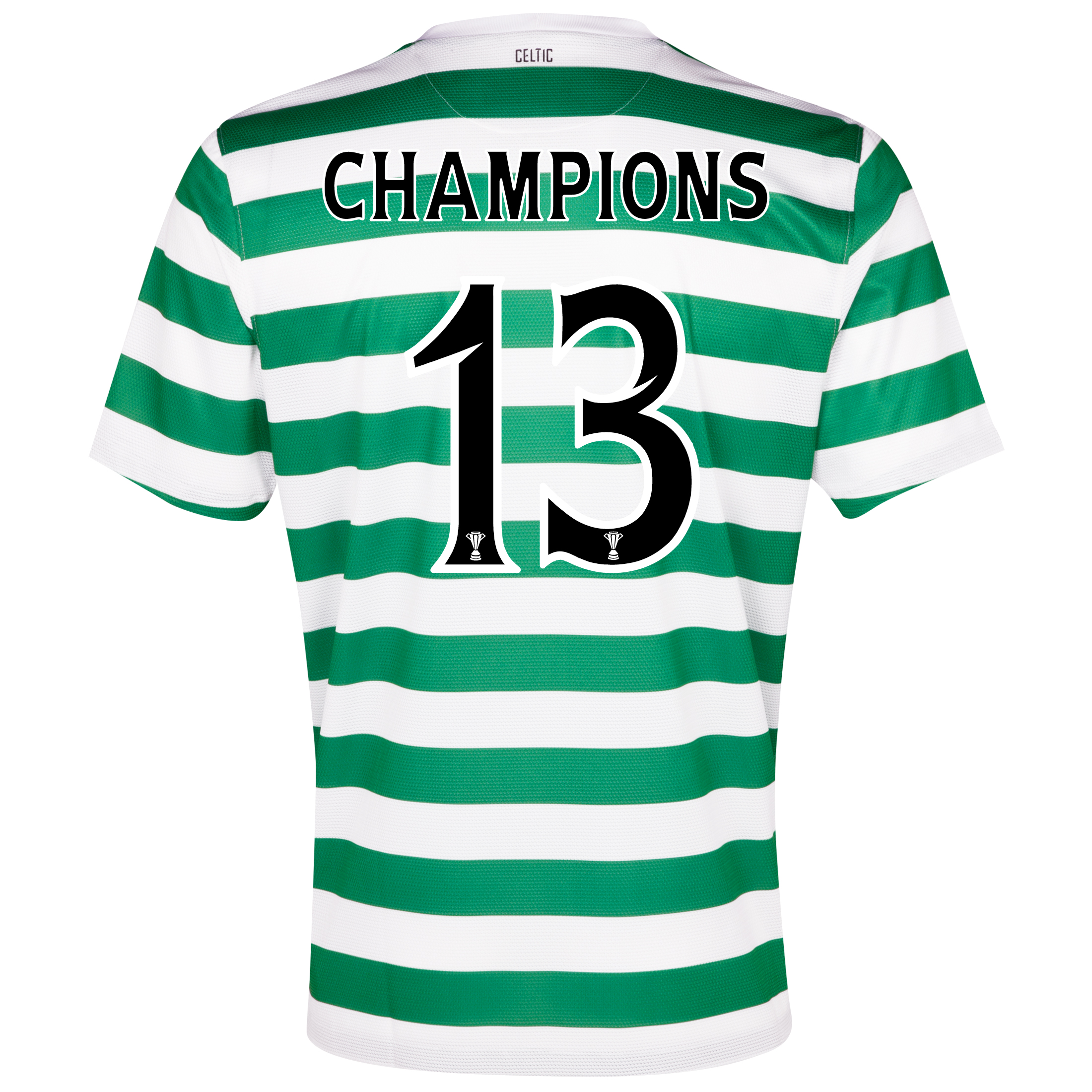 Celtic Home Shirt 2012/13 - Kids with Champions 13 printing