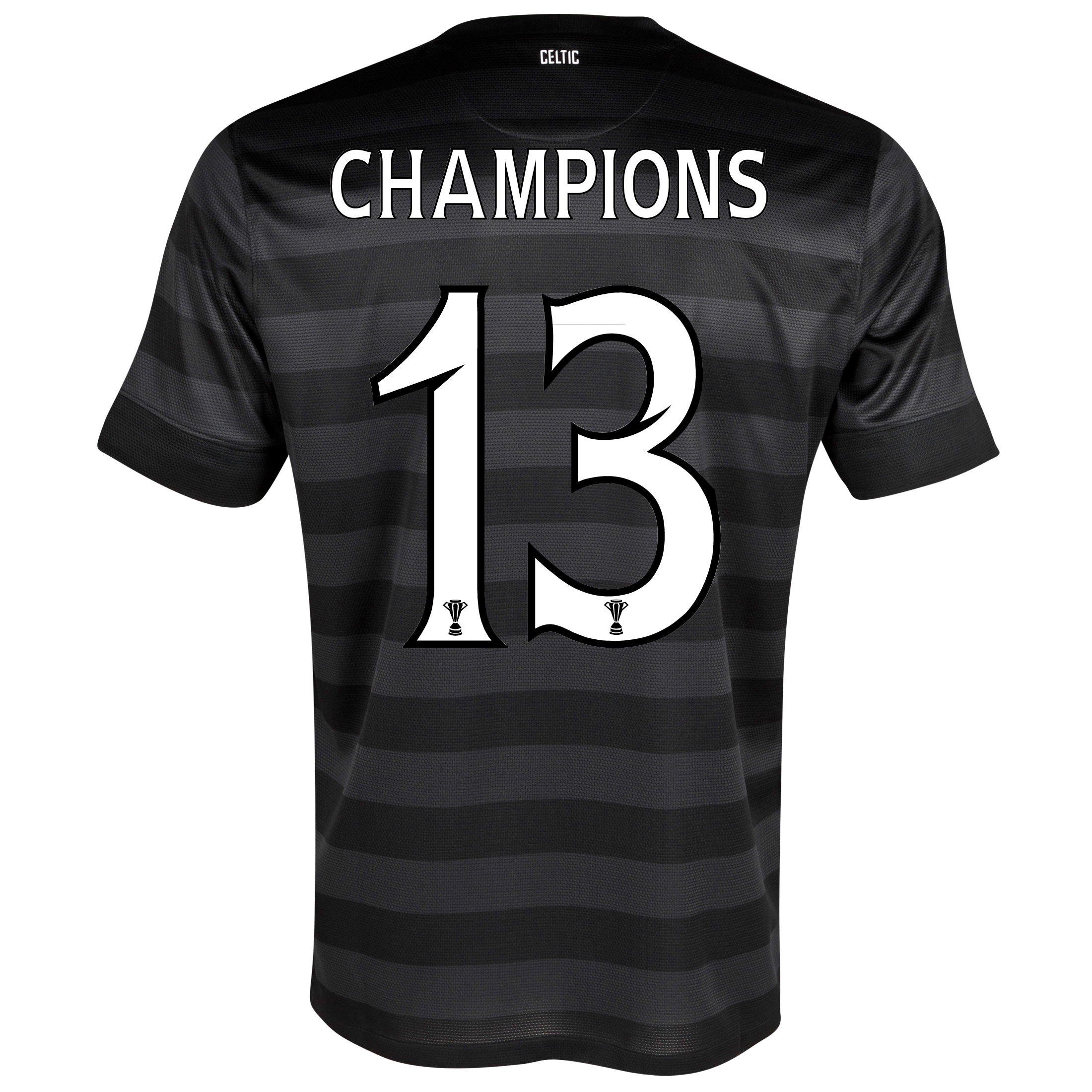 Celtic Away Shirt 2012/13 -  Kids with Champions 13 printing