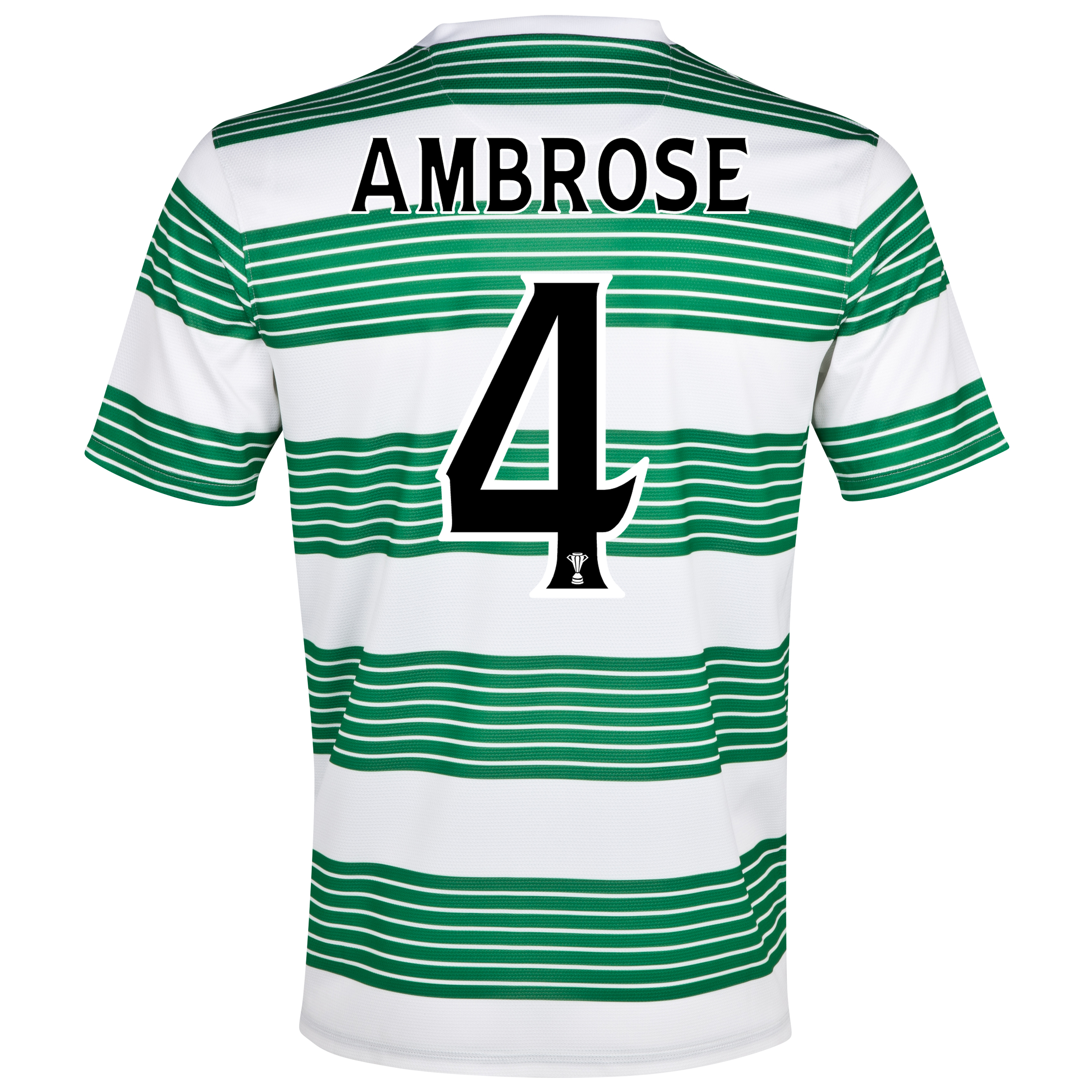 Celtic Home Shirt 2013/15 - With Sponsor with Ambrose 4 printing