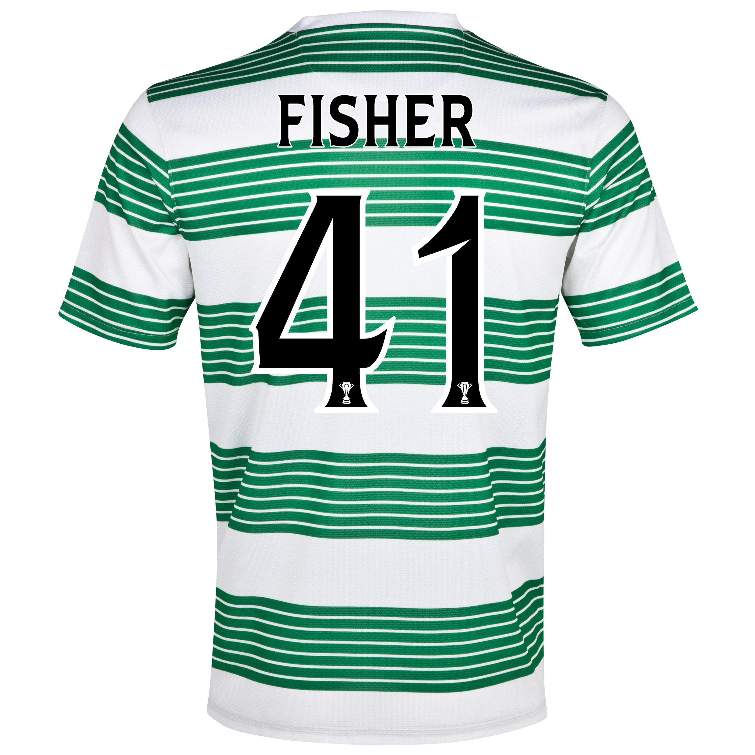Celtic Home Shirt 2013/15- Unsponsored with Fisher 41 printing