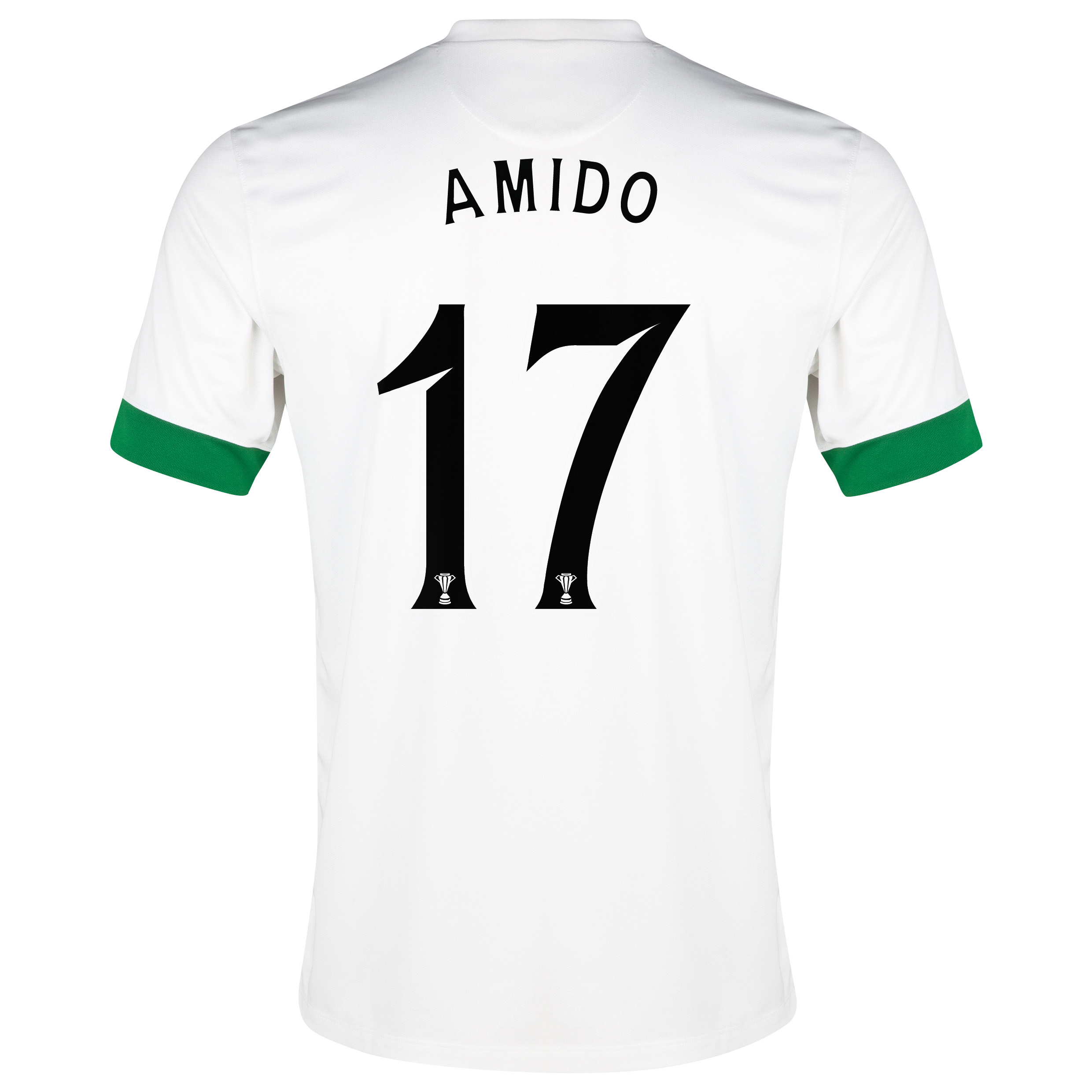 Celtic 3rd Shirt 2014/15 - With Sponsor White with Amido 17 printing