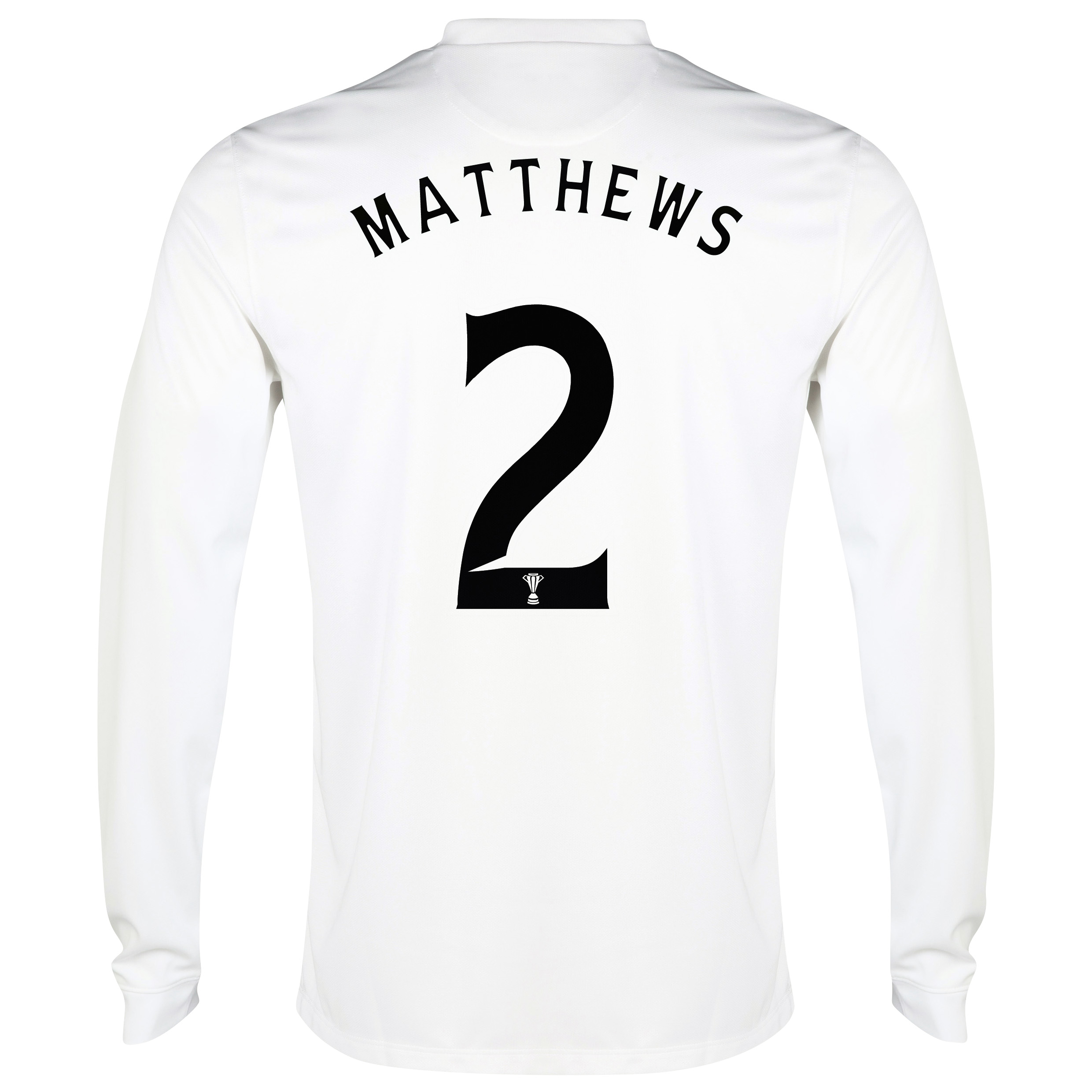 Celtic 3rd Shirt 2014/15 - Long Sleeved - Unsponsored White with Matthews 2 printing