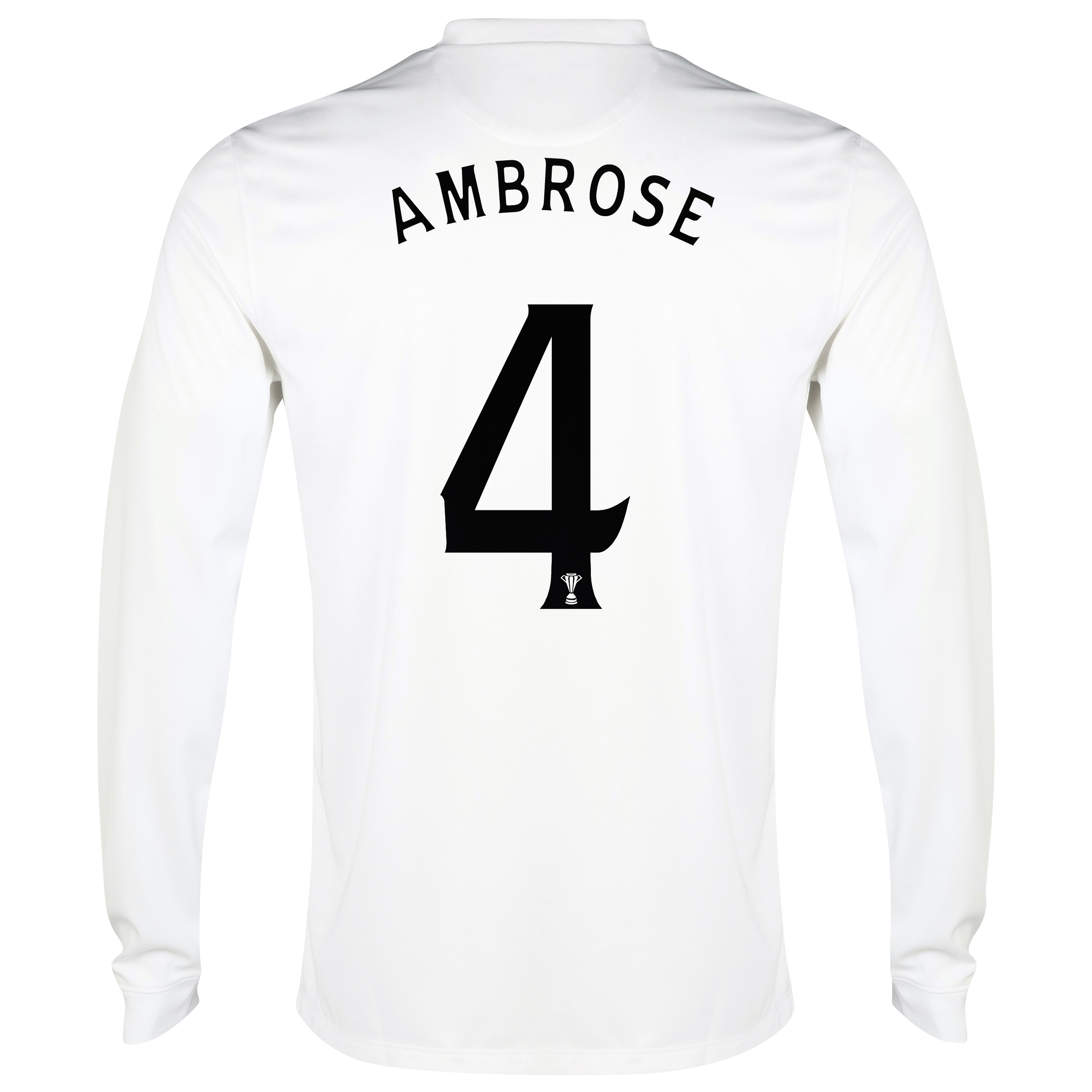 Celtic 3rd Shirt 2014/15 - Long Sleeved - Unsponsored White with Ambrose 4 printing